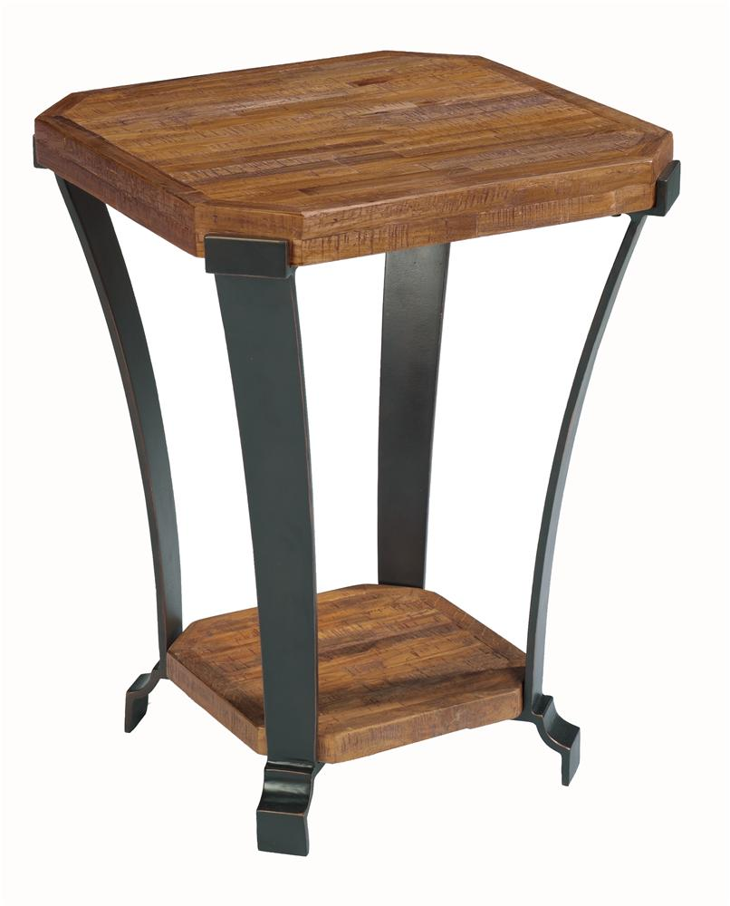 Flexsteel kenwood chairside table olinde 39 s furniture for Chairside table
