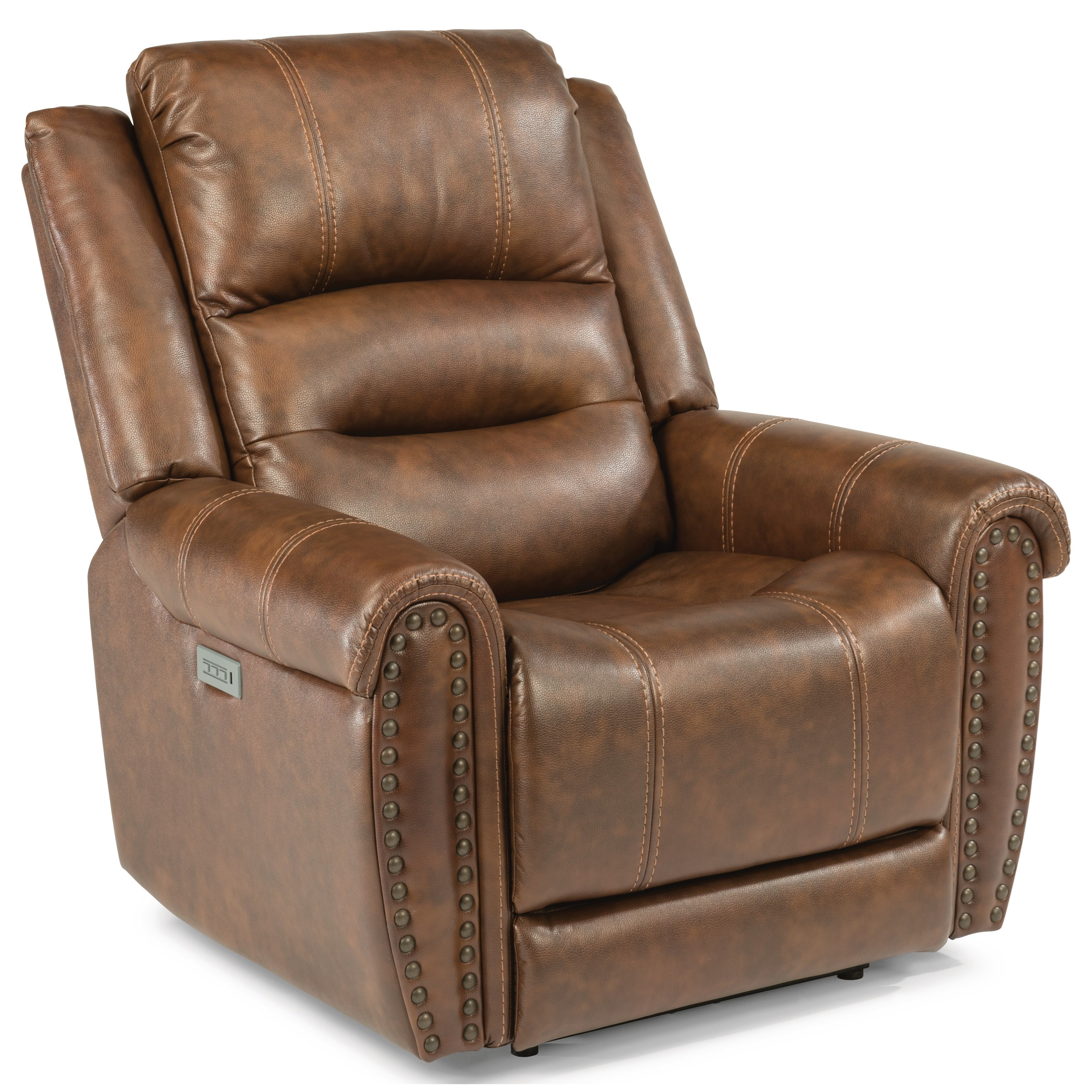 Flexsteel latitudes oscar 1590 50ph power recliner with for Furniture helpline