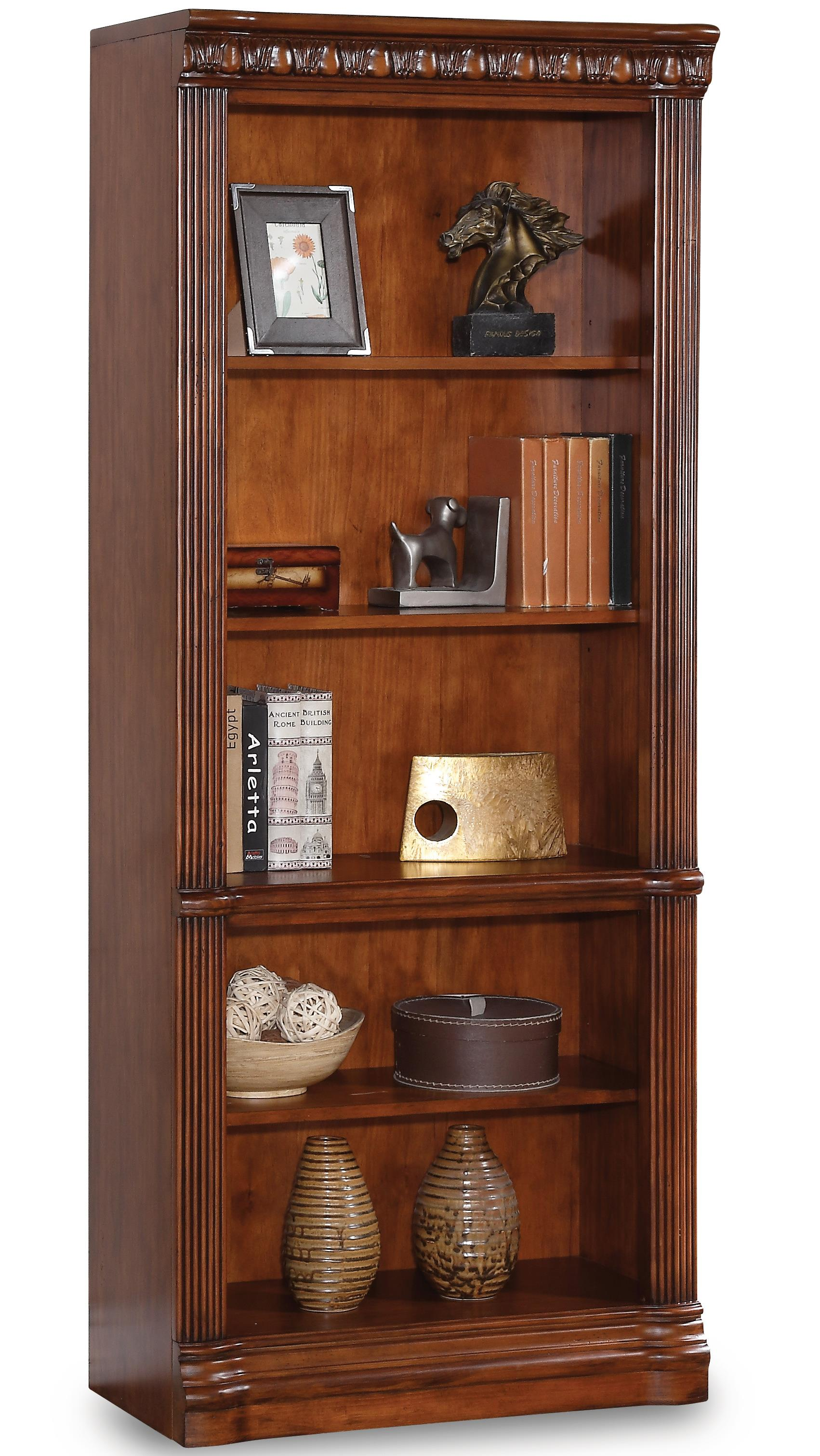 collection cordoba bookcase with 4 shelves hudson 39 s furniture open