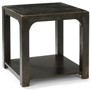 Flexsteel wynwood collection homestead w1337 741 rustic l for City furniture in homestead