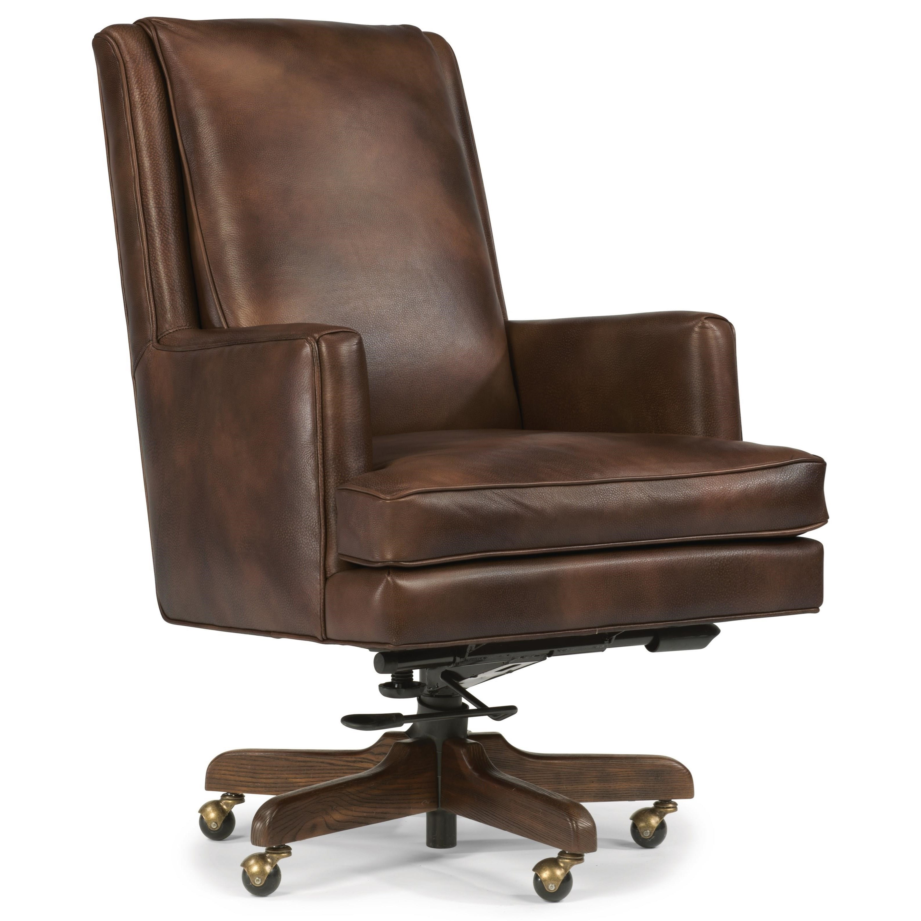 flexsteel wynwood collection office chairs casual leather