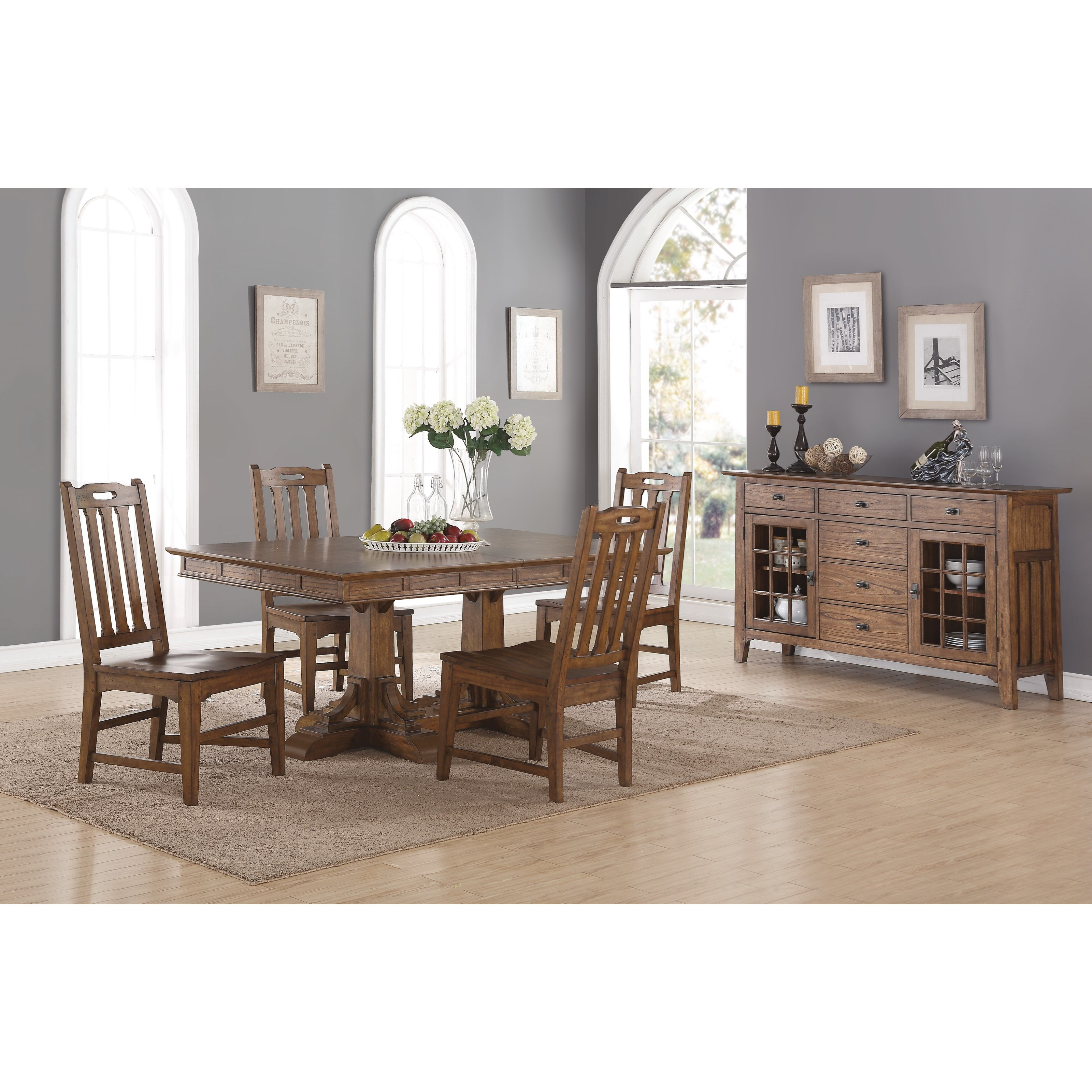 Flexsteel wynwood collection sonora casual dining room for Informal dining