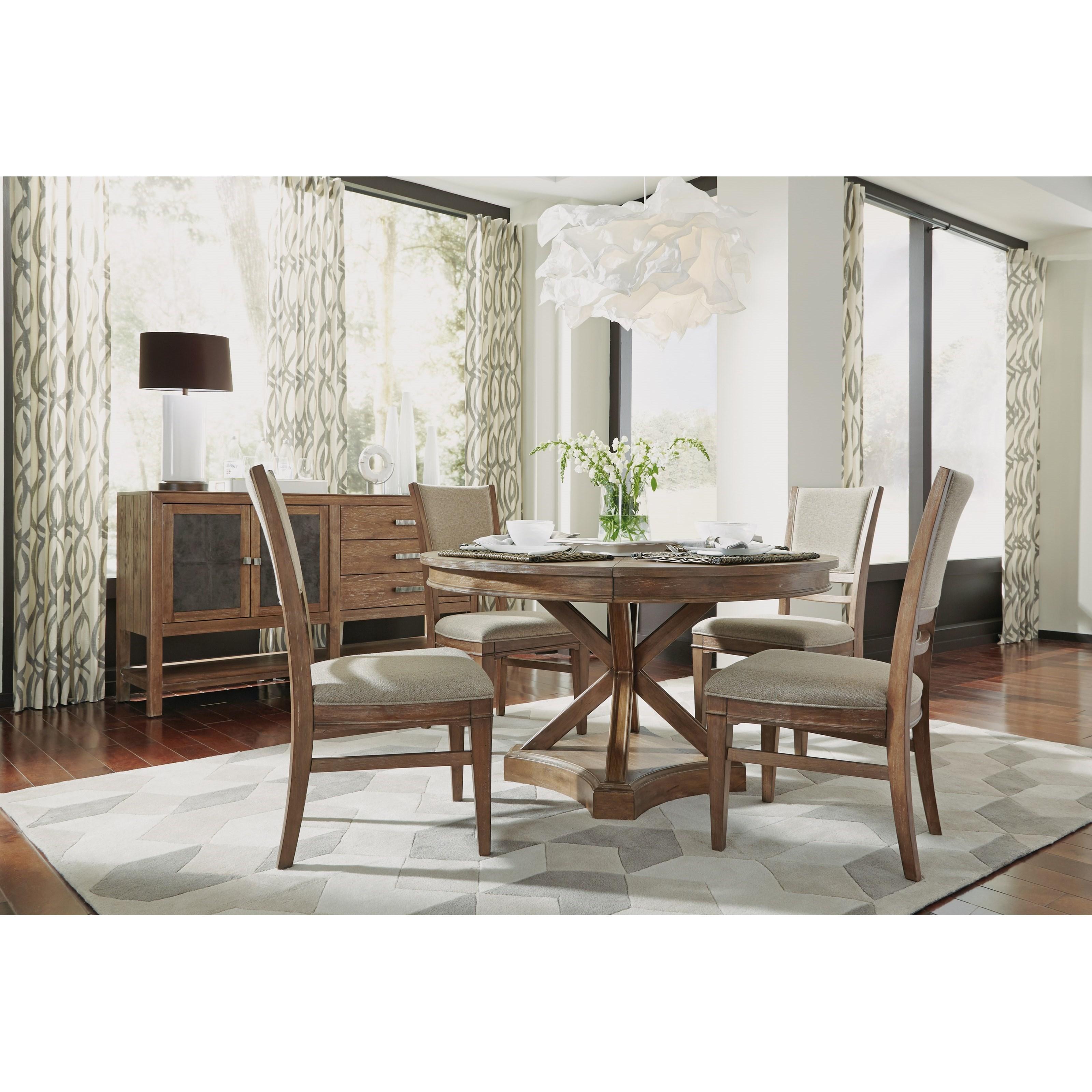 wynwood a flexsteel company hampton dining group rustic. Black Bedroom Furniture Sets. Home Design Ideas