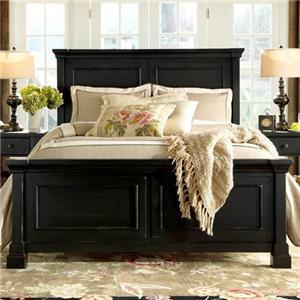 Folio 21 stoney creek california king panel bed w storage for Stoney creek bedroom set