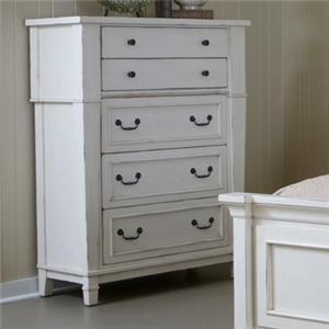 Folio 21 stoney creek drawer dresser w mirror great for Stoney creek bedroom set