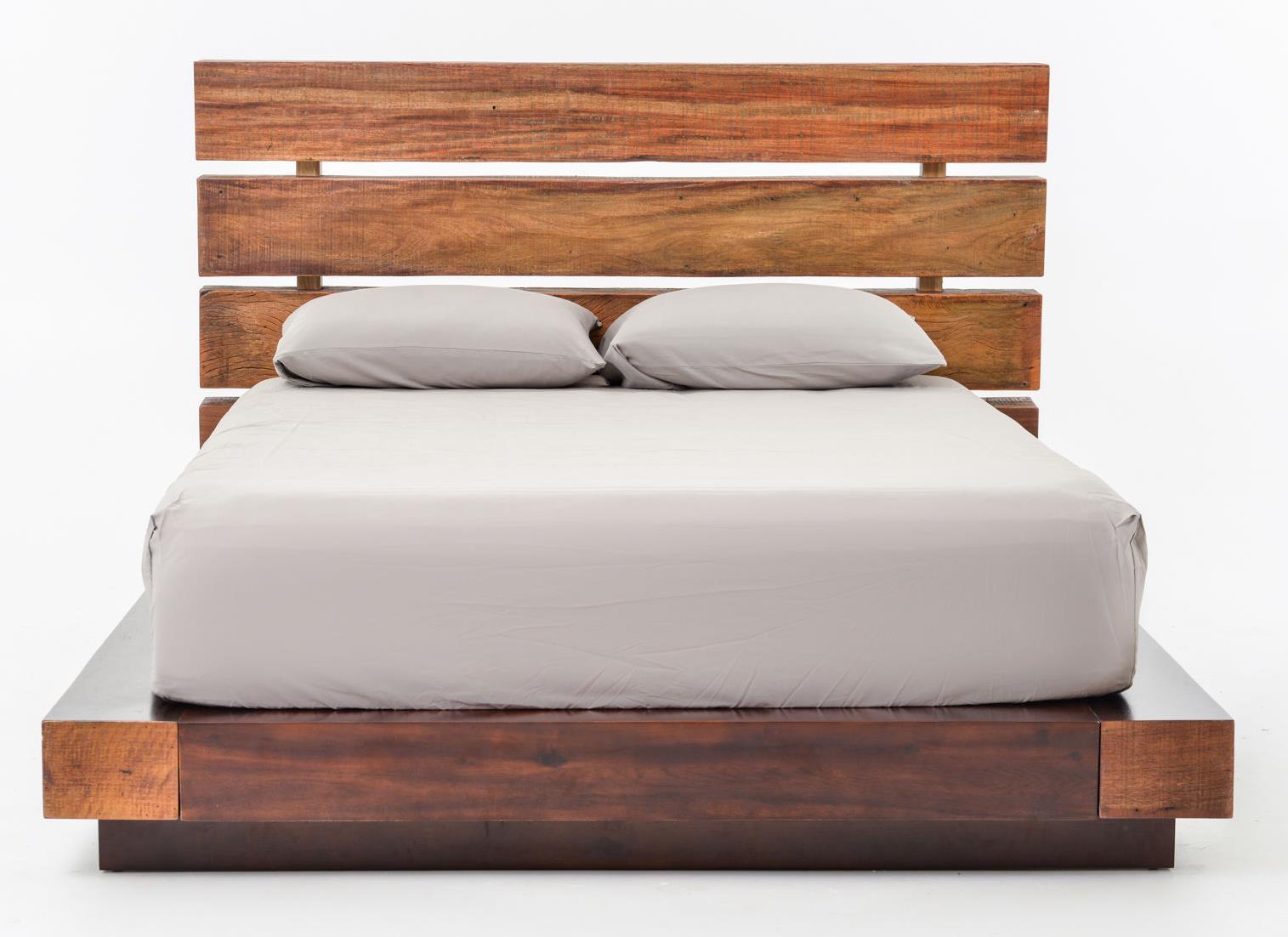 four hands bina iggy reclaimed wood king bed olinde 39 s. Black Bedroom Furniture Sets. Home Design Ideas