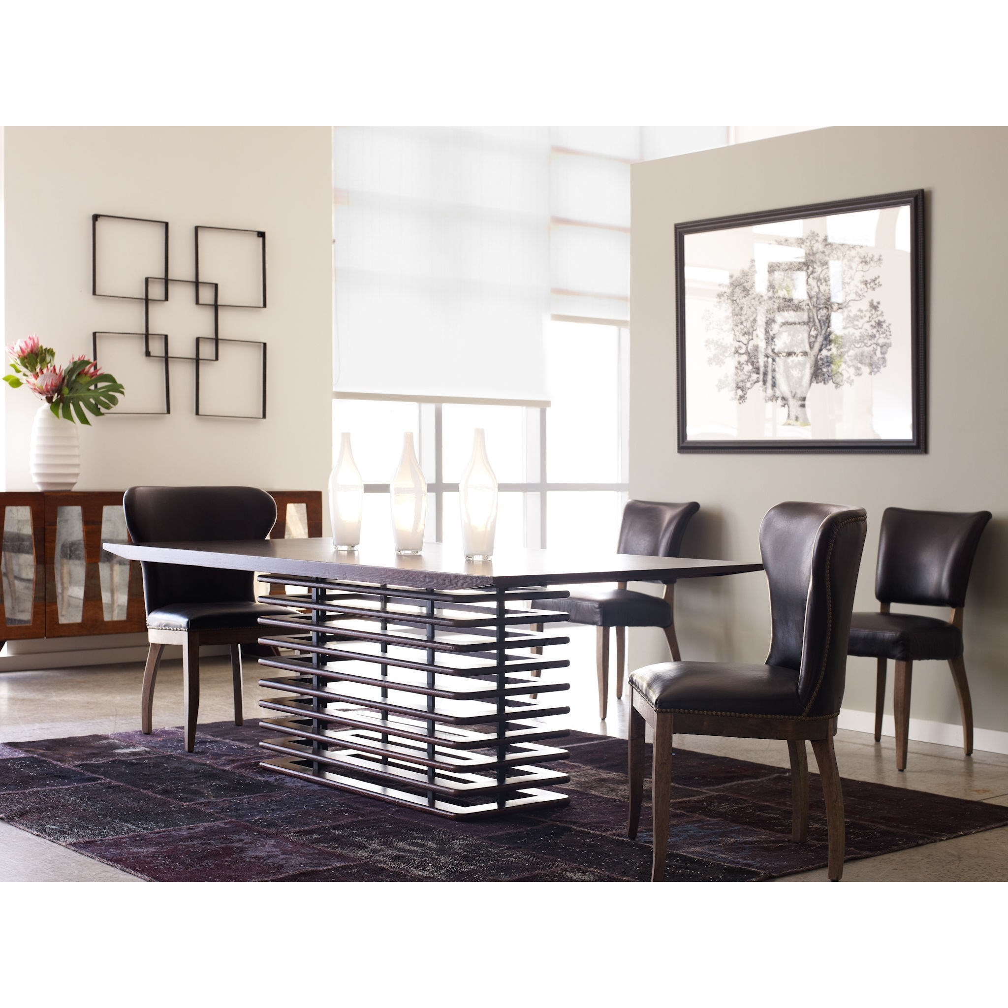 Four Hands Carnegie Richmond Dining Chair With Tapered Legs Jacksonville Furniture Mart