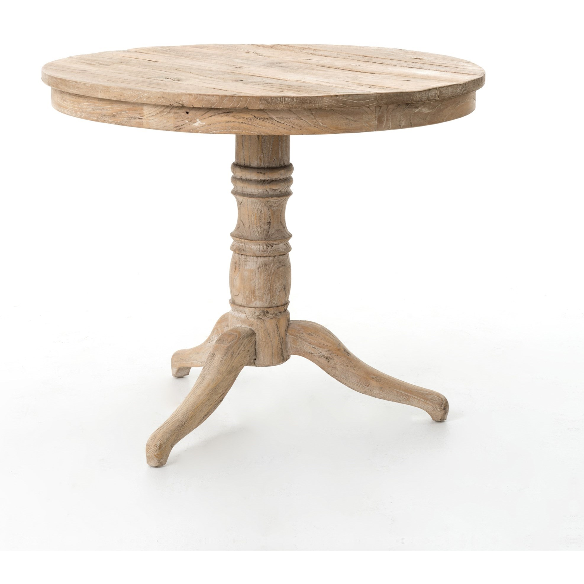 Four hands hughes round occasional table with turned for Occasional table manufacturers