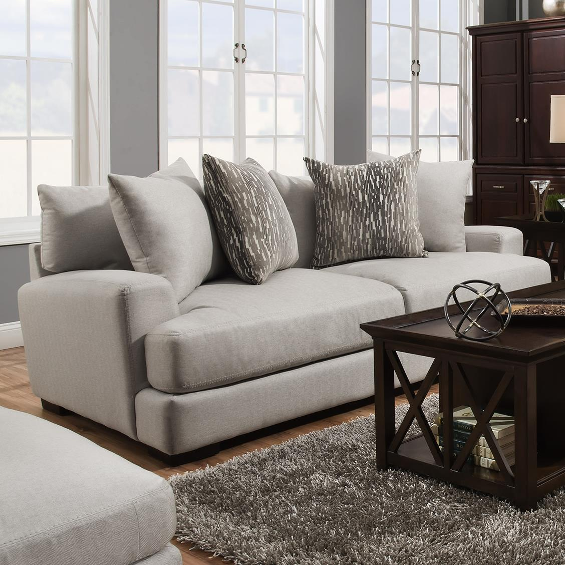 Opprinnelig Franklin Oslo 80840 Sofa with Two Seat Cushion Construction YI-76