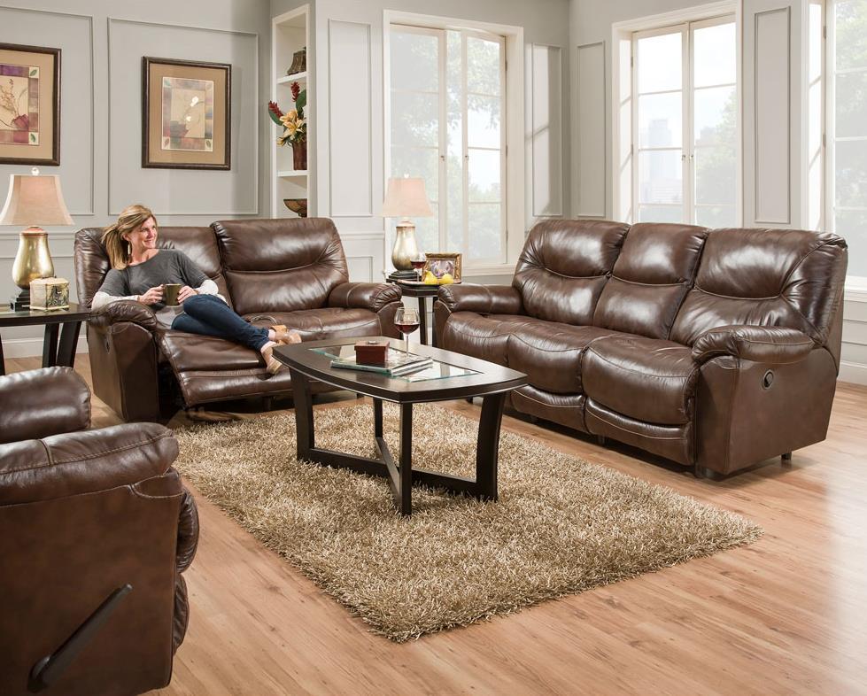 Franklin Calloway Reclining Living Room Group John V