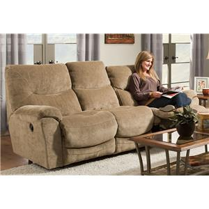 Franklin Calloway 45722 Reclining Loveseat With Wow Seating System John V Schultz Furniture