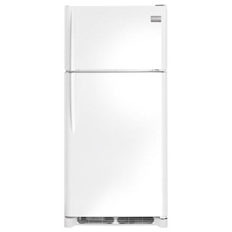 frigidaire custom flex 18 2 cu ft top freezer refrigerator sheely 39 s furniture appliance. Black Bedroom Furniture Sets. Home Design Ideas