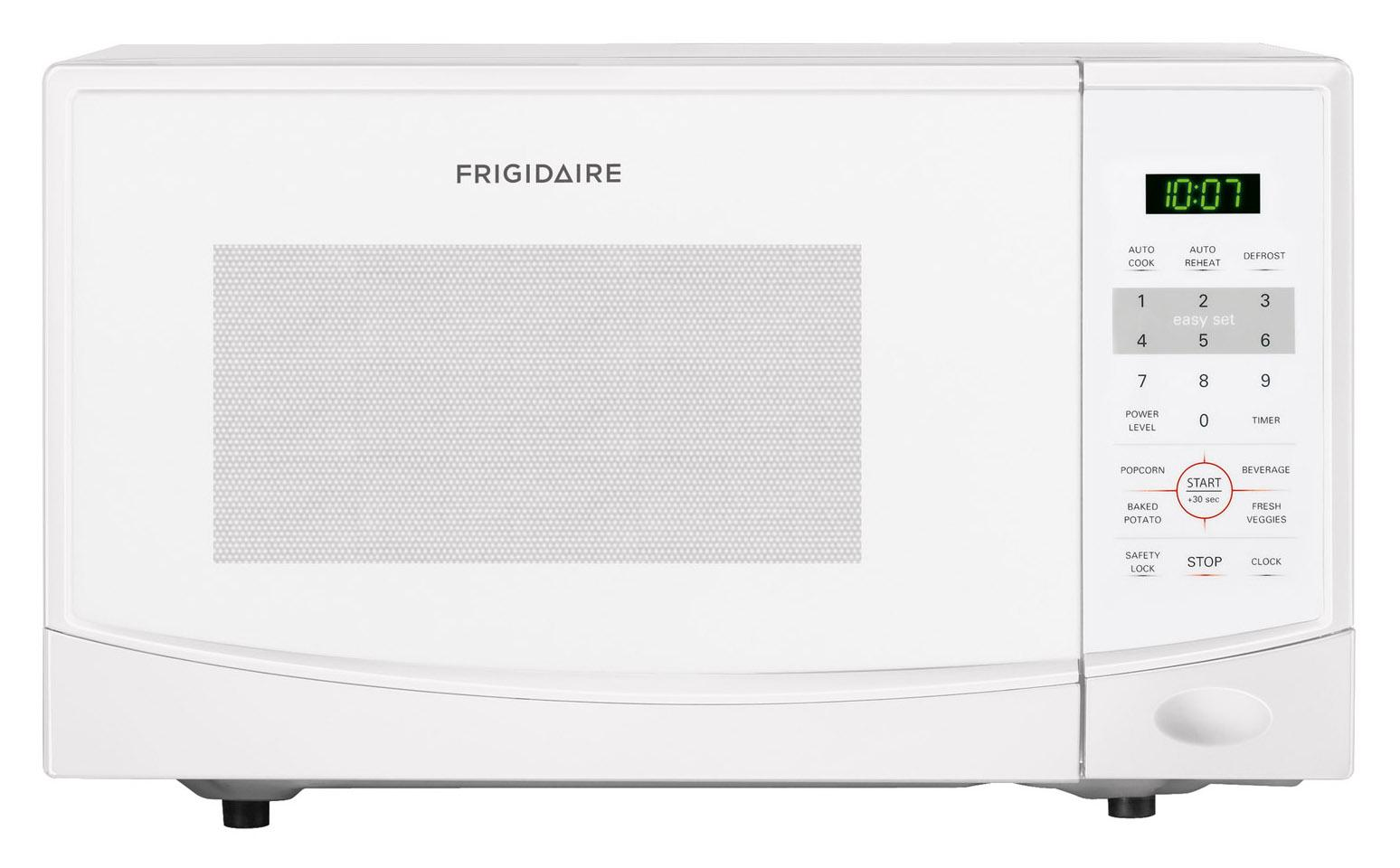 frigidaire ffcm0934lw0 9 cu ft countertop microwave with auto one touch options furniture. Black Bedroom Furniture Sets. Home Design Ideas