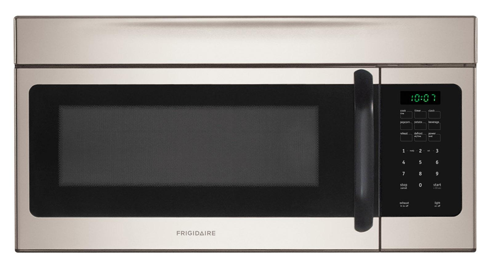Mount Countertop Microwave Over Stove : Frigidaire Microwaves 1.6 Cu. Ft. Over-The-Range Microwave - Item ...