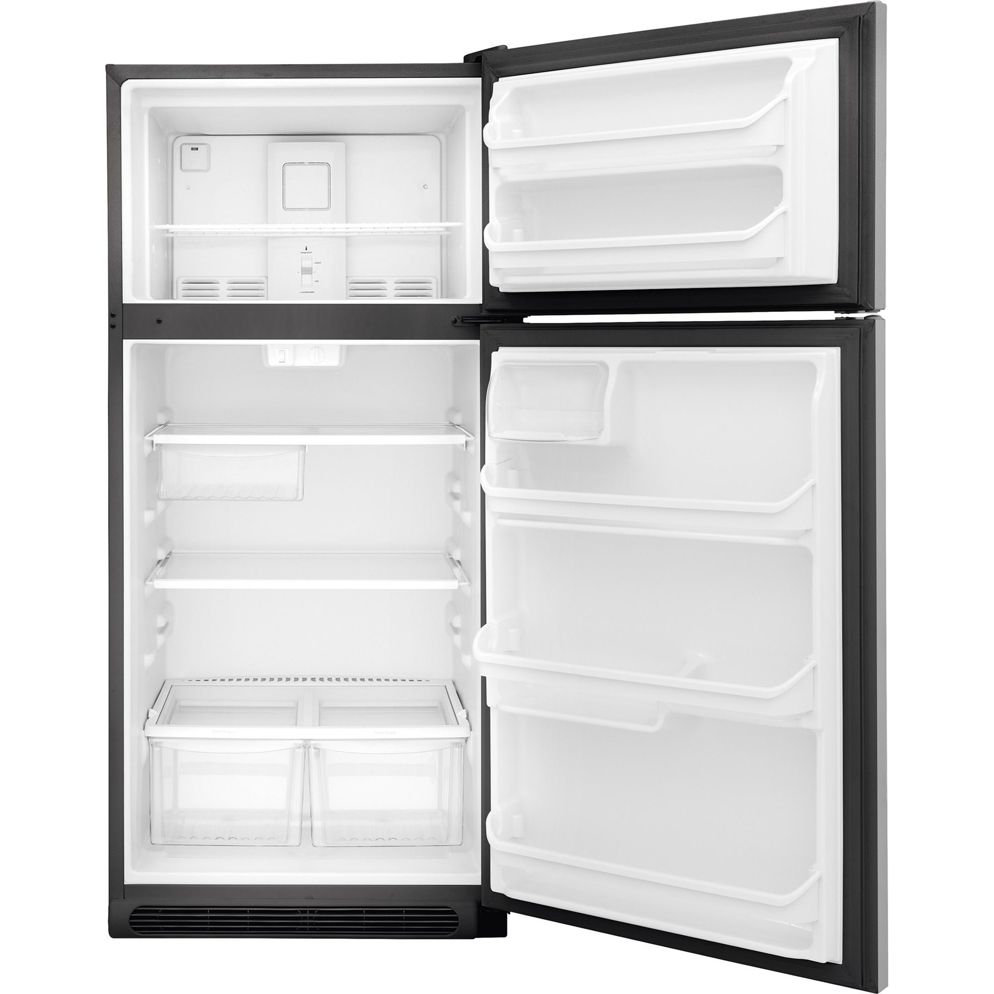 frigidaire fftr1821td18 cu ft top freezer refrigerator furniture and appliancemart. Black Bedroom Furniture Sets. Home Design Ideas