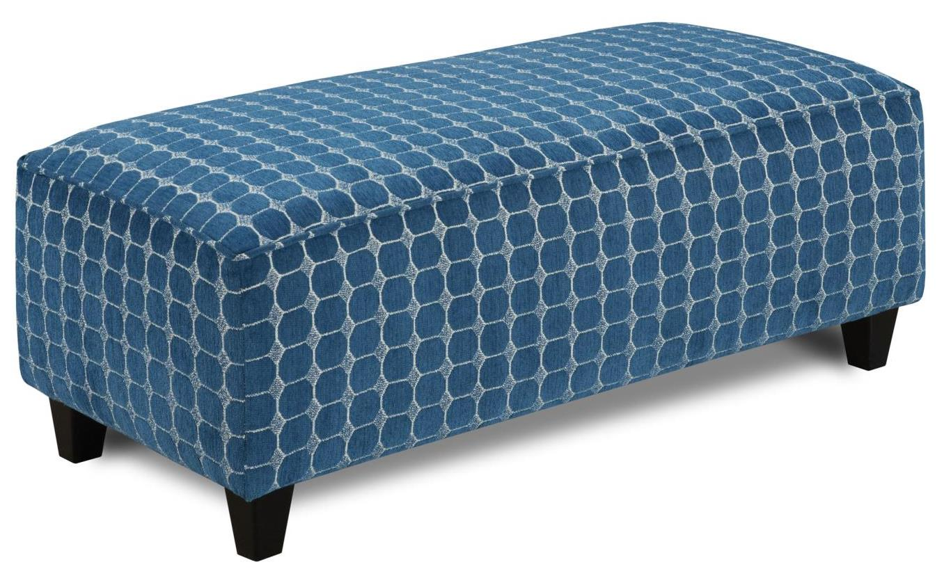 1140 LABYRINTH SKY Cocktail Ottoman by Fusion Furniture at Story & Lee Furniture