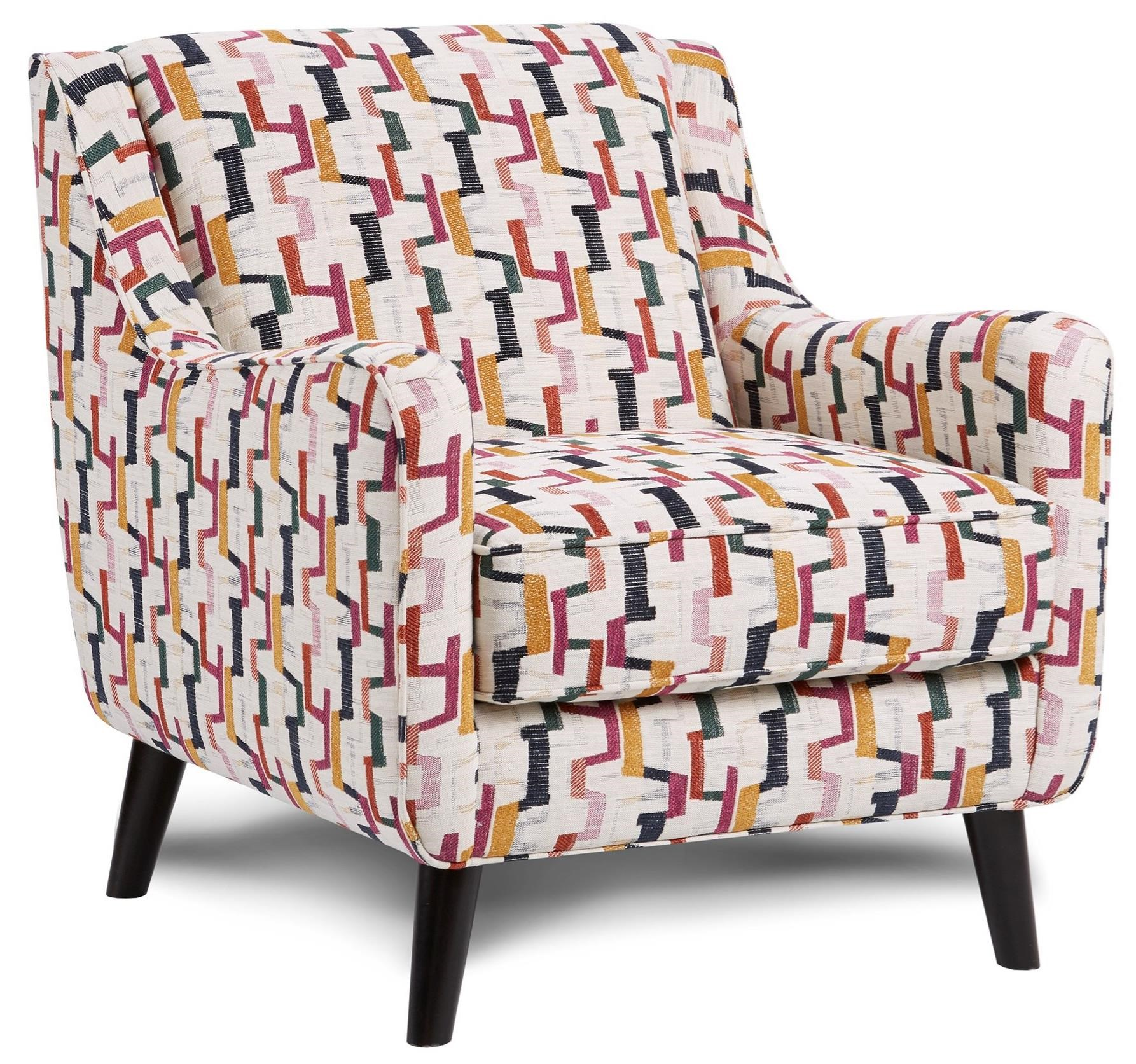 4200-KP SHADOWFAX DOVE (REVOLUTION) Accent Chair by Fusion Furniture at Story & Lee Furniture