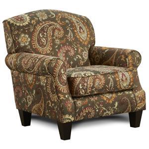 Fusion Furniture 5960 Transitional Sofa with English