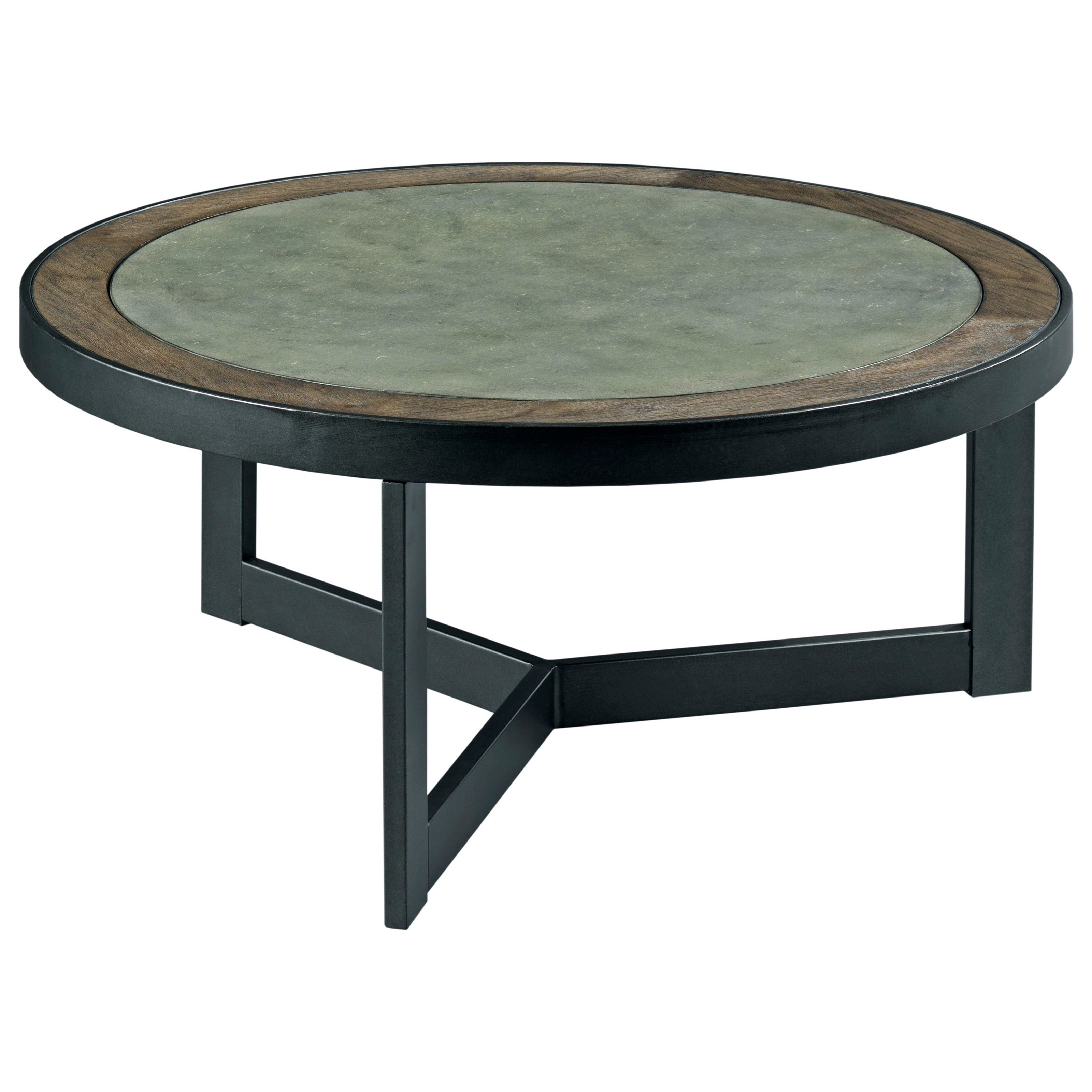 Hammary 650 650 911 round cocktail table gill brothers for Cocktail 911