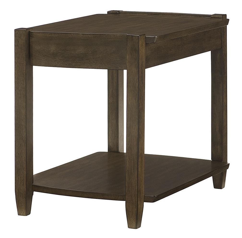 Alba rectangular drawer end table morris home end table for Morris home