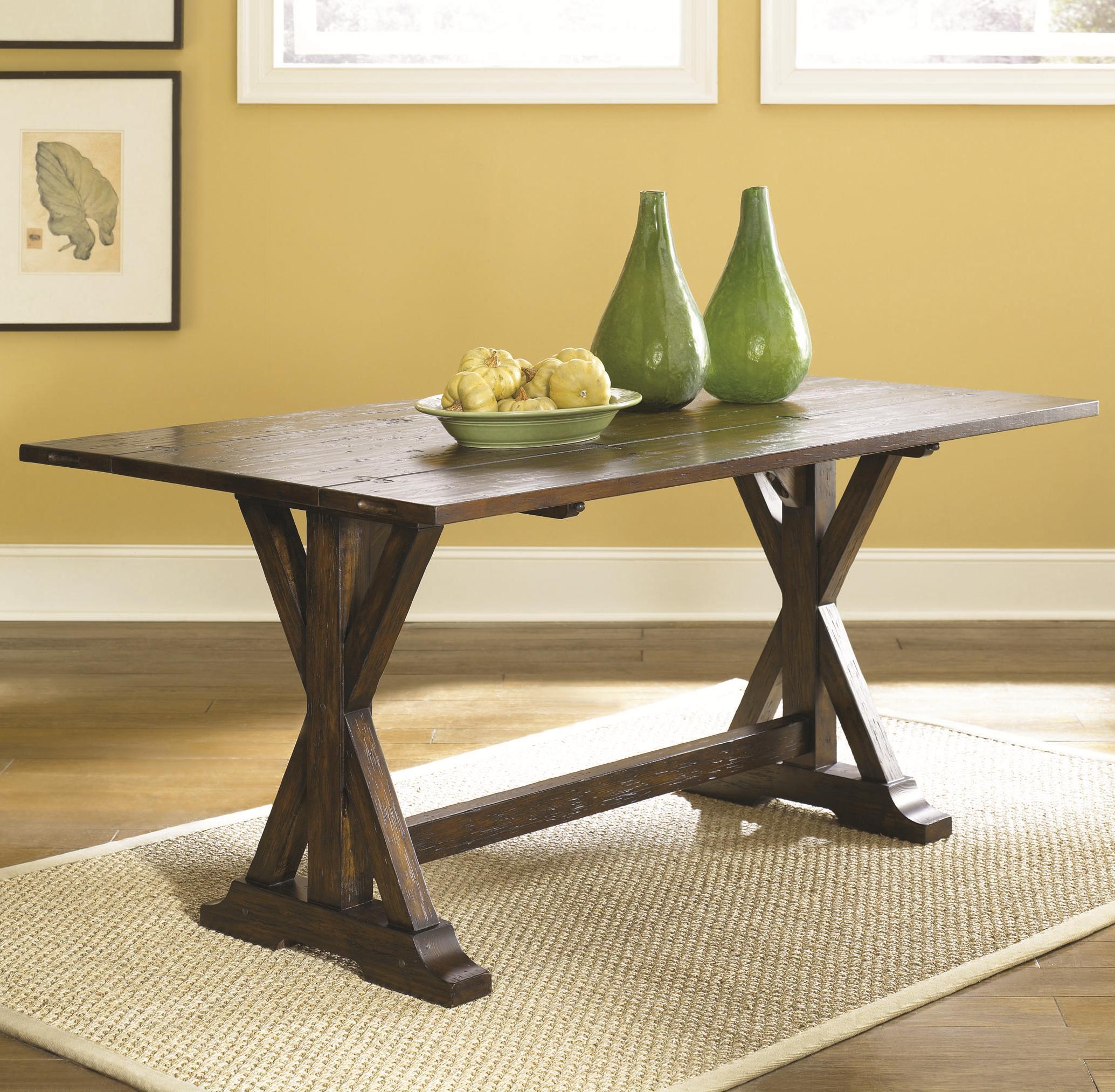Hammary hidden treasures flip top console table wayside for Wayside furniture