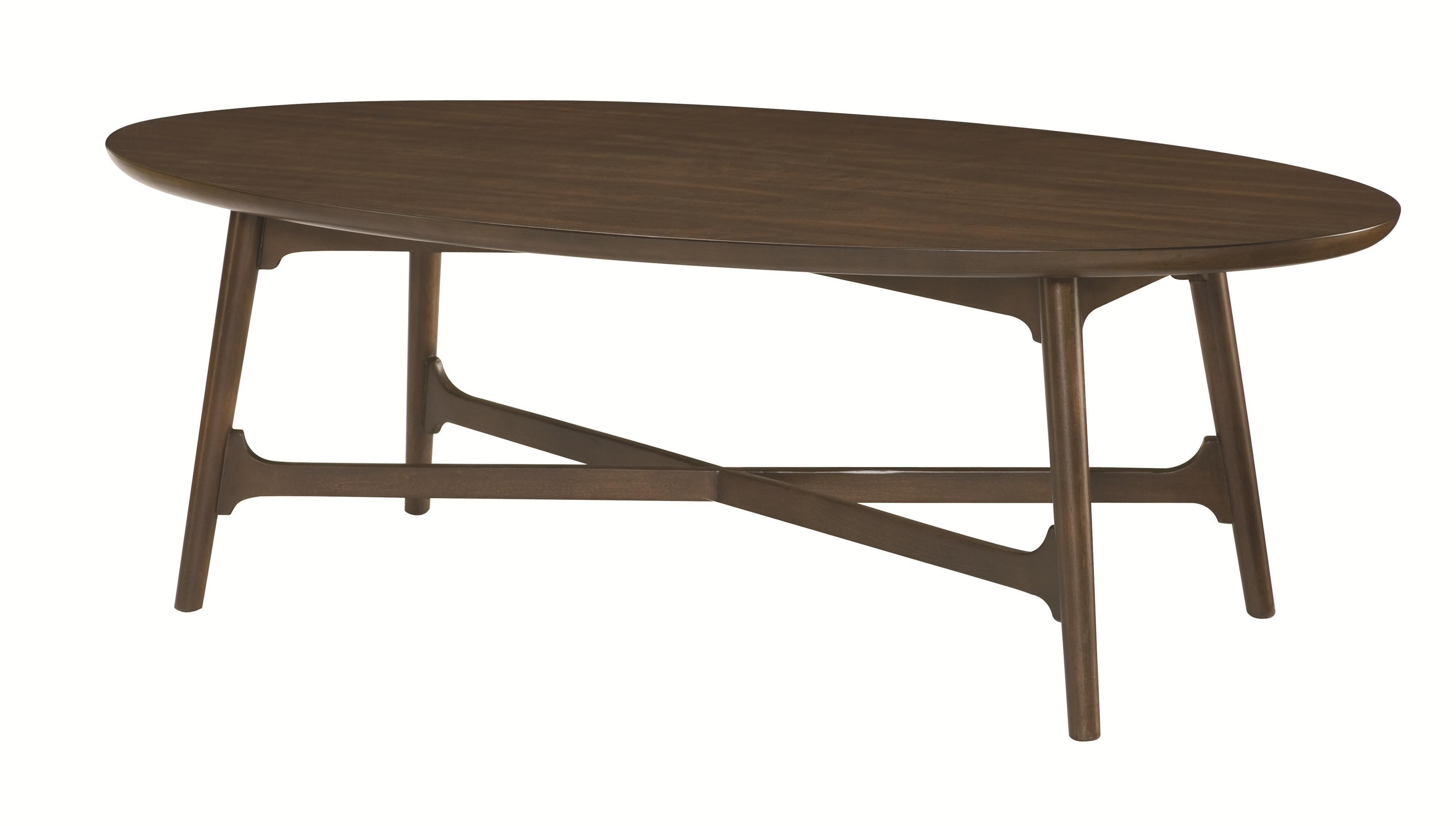 Mila Oval Cocktail Table by Hammary