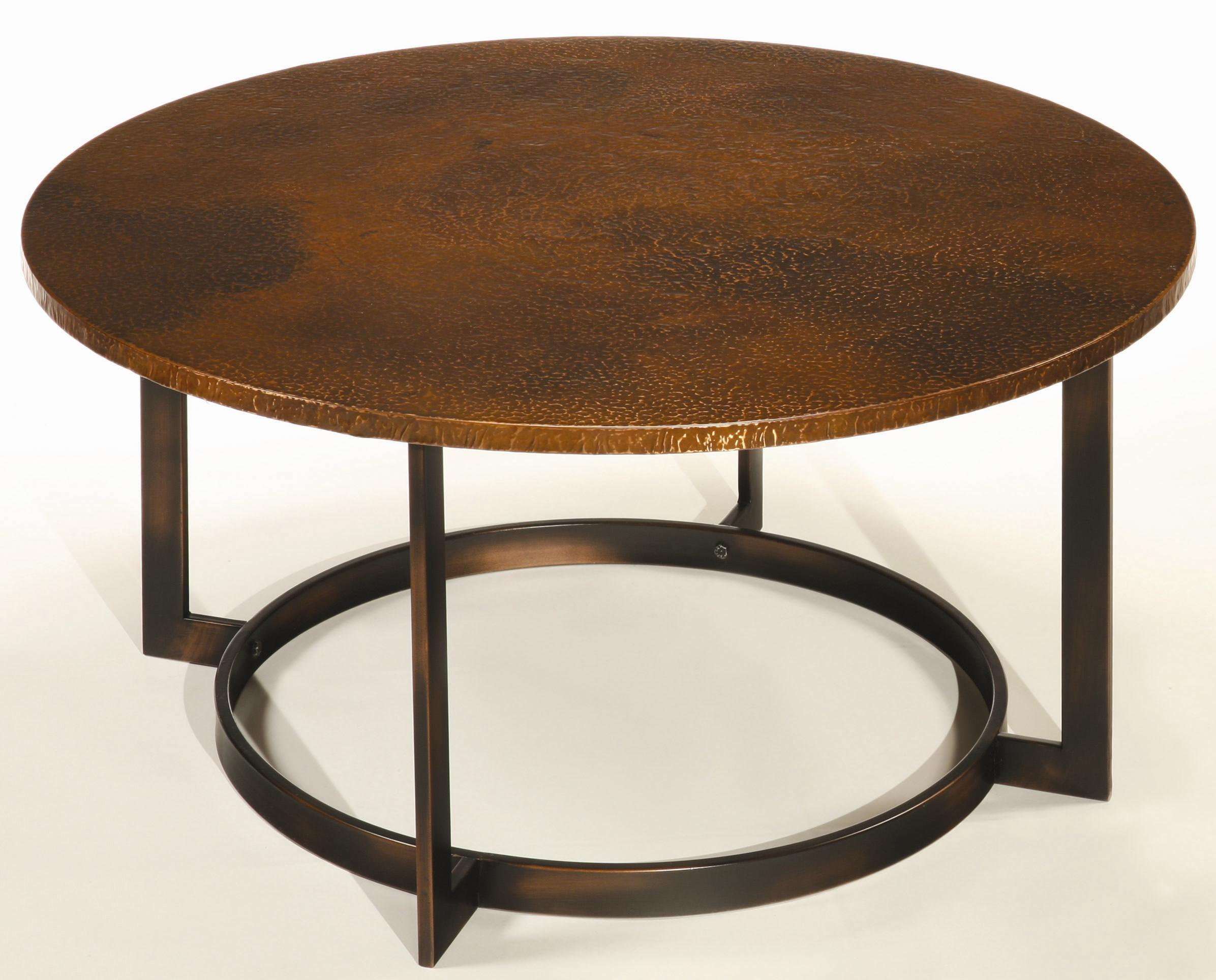 Hammary Nueva Coffee Table Top w Copper TopWayside Furniture