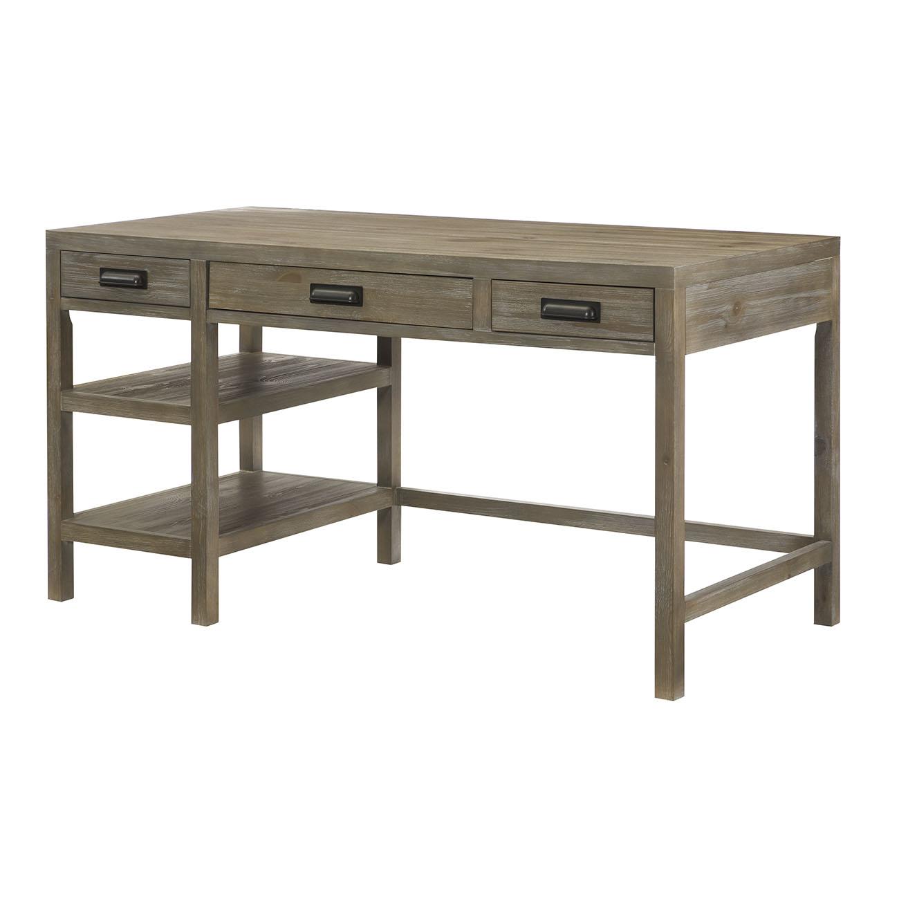 Parsons Single Pedestal Desk With Morris Home Single