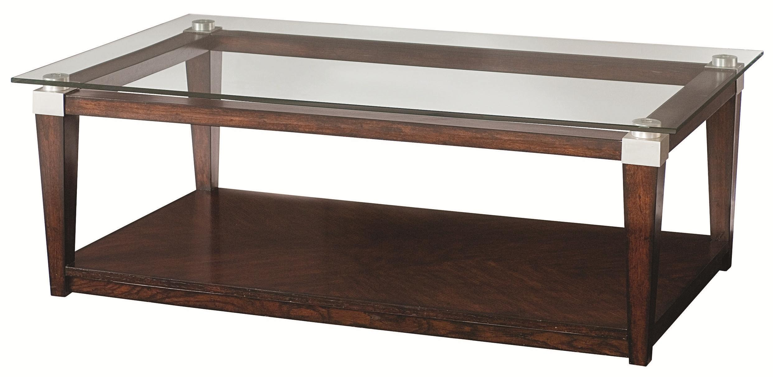 Hammary Solitaire Coffee Table HomeWorld Furniture