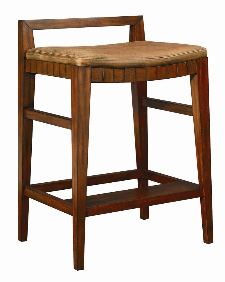 Henredon Acquisitions Bar Stool With Upholstered Seat Jacksonville Furniture Mart Bar Stools
