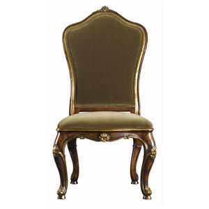 Henredon Arabesque Leg Table & Upholstered Back Chairs Set