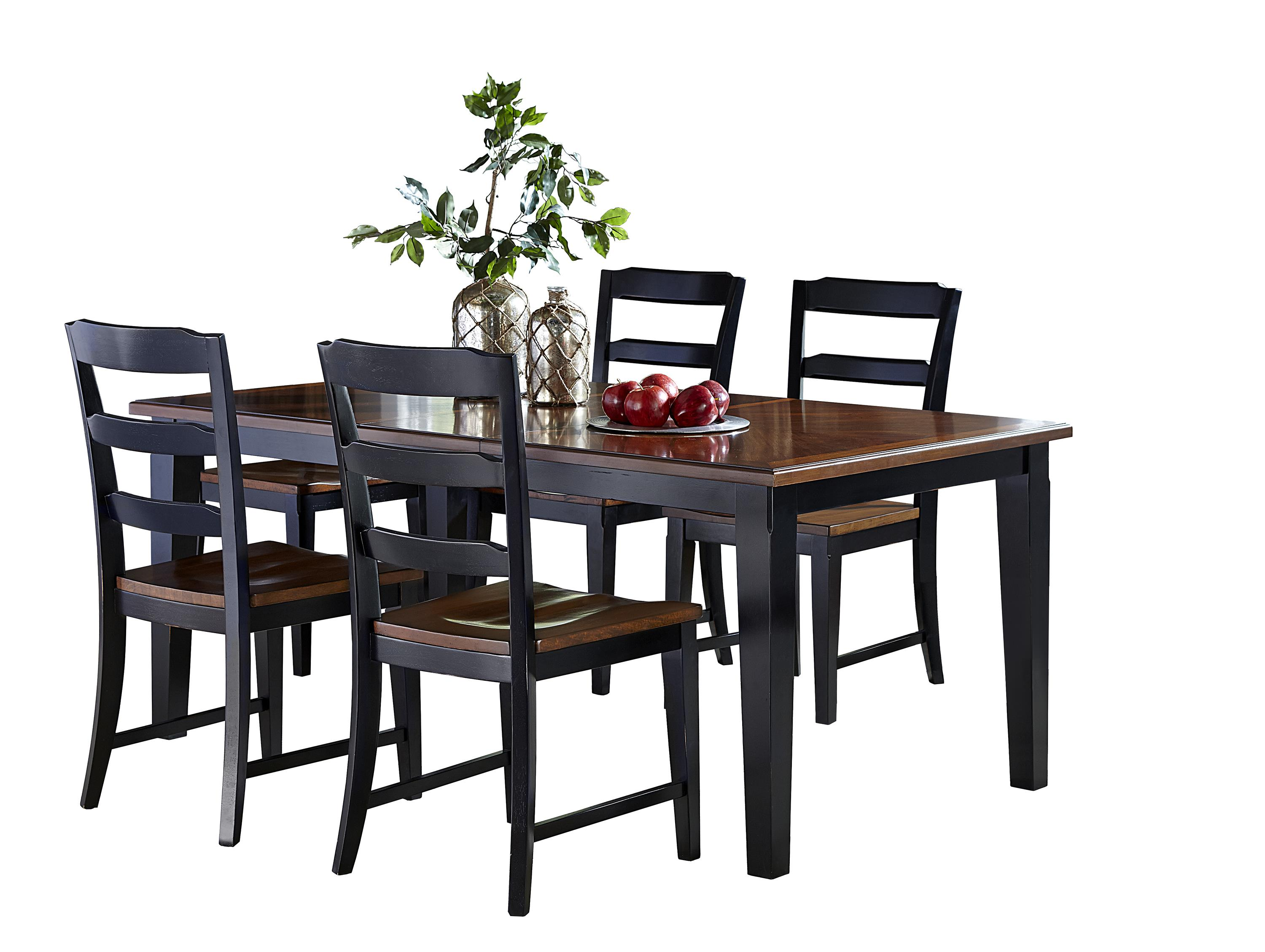Hillsdale avalon 5 piece table chair set wayside for Table 6 kitchen and bar canton ohio
