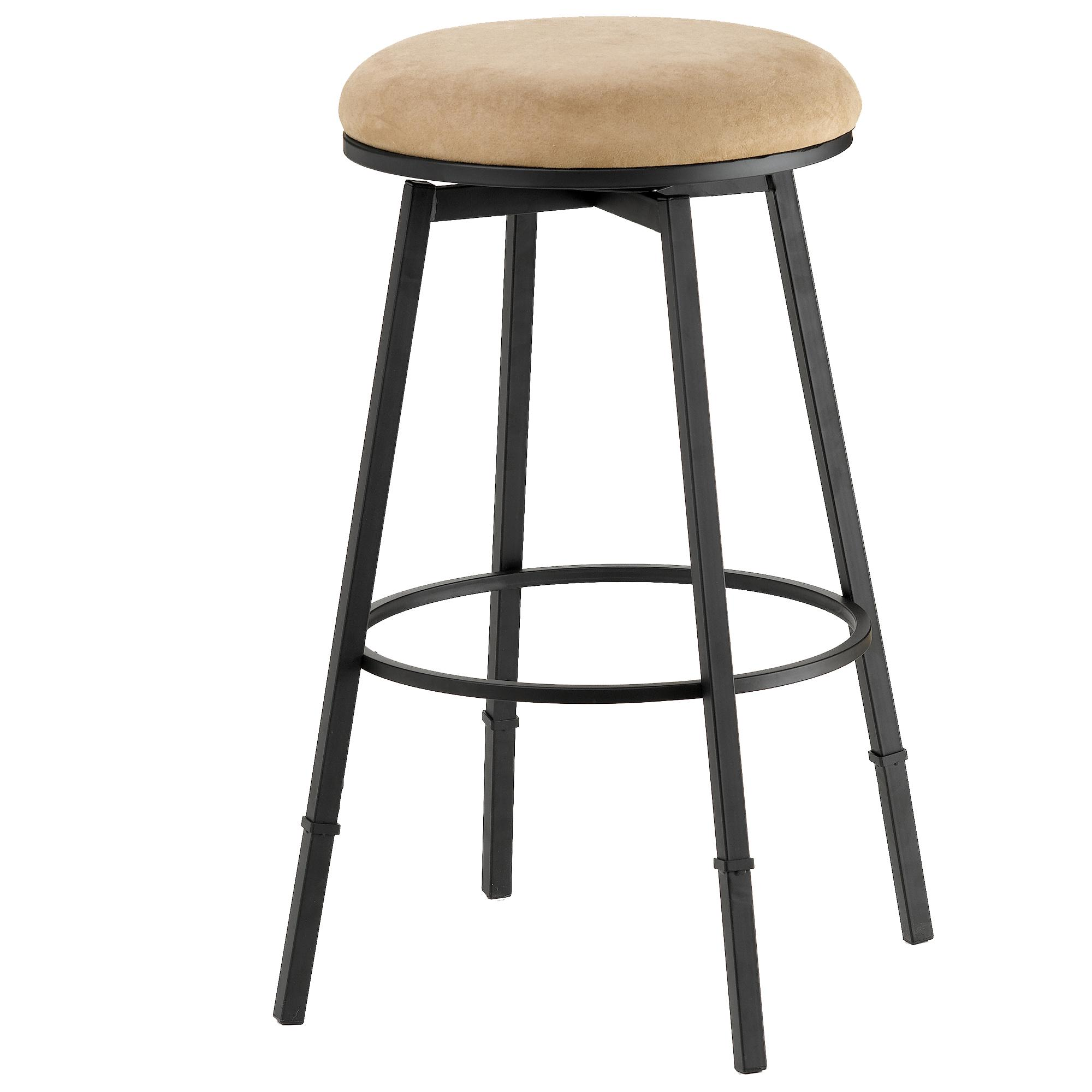 Hillsdale Backless Bar Stools Sanders Adjustable Backless