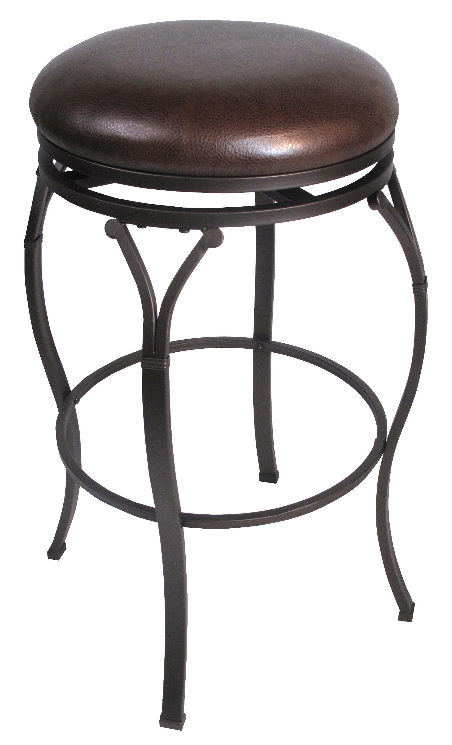 Hillsdale backless bar stools 24 5 lakeview backless for Backless bar stools