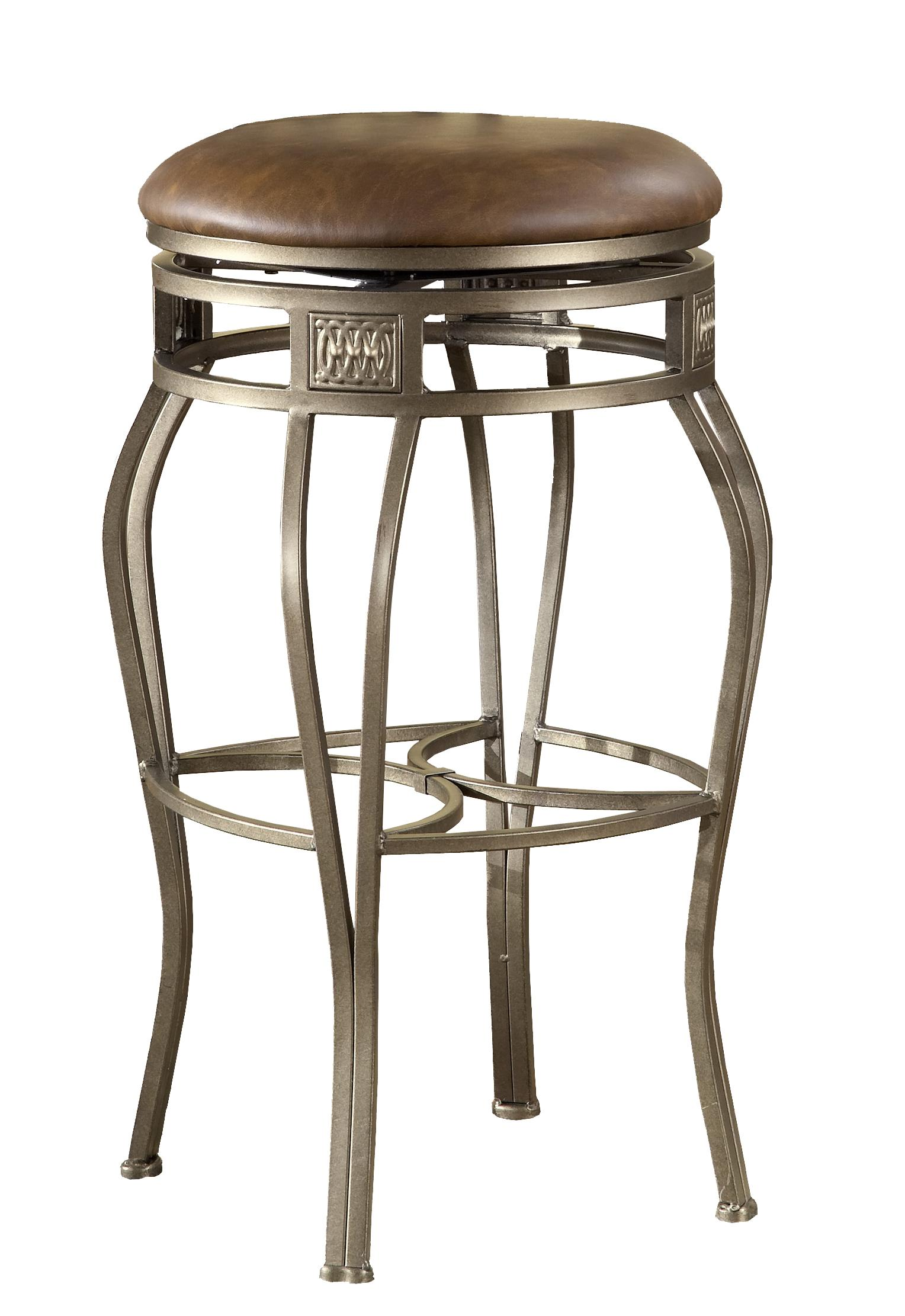Backless Bar Stools 30 Quot Backless Montello Swivel Bar Stool