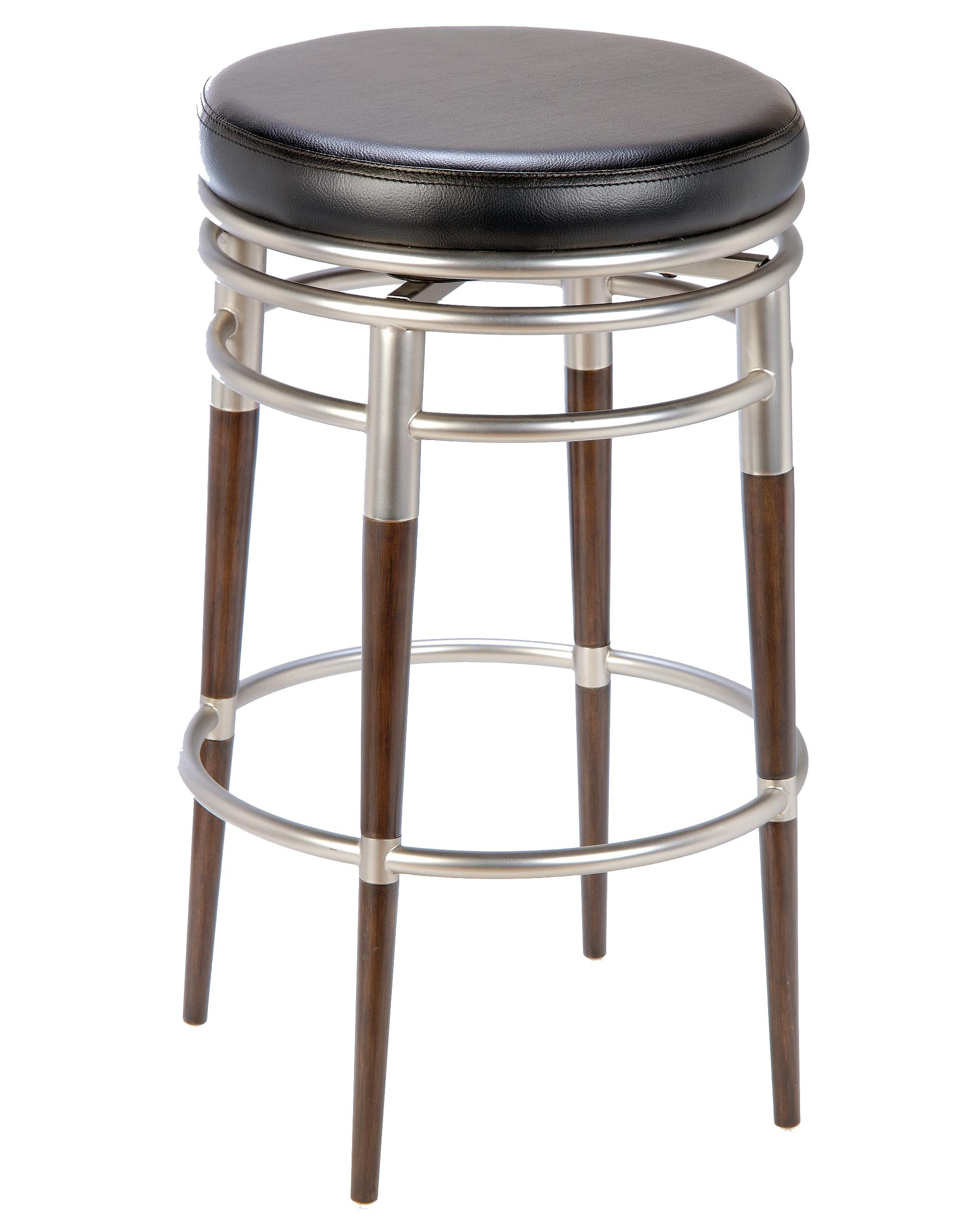 Hillsdale backless bar stools 30 salem backless swivel for Backless bar stools