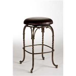 Hillsdale Backless Bar Stools 26 Quot Sorella Saddle Backless