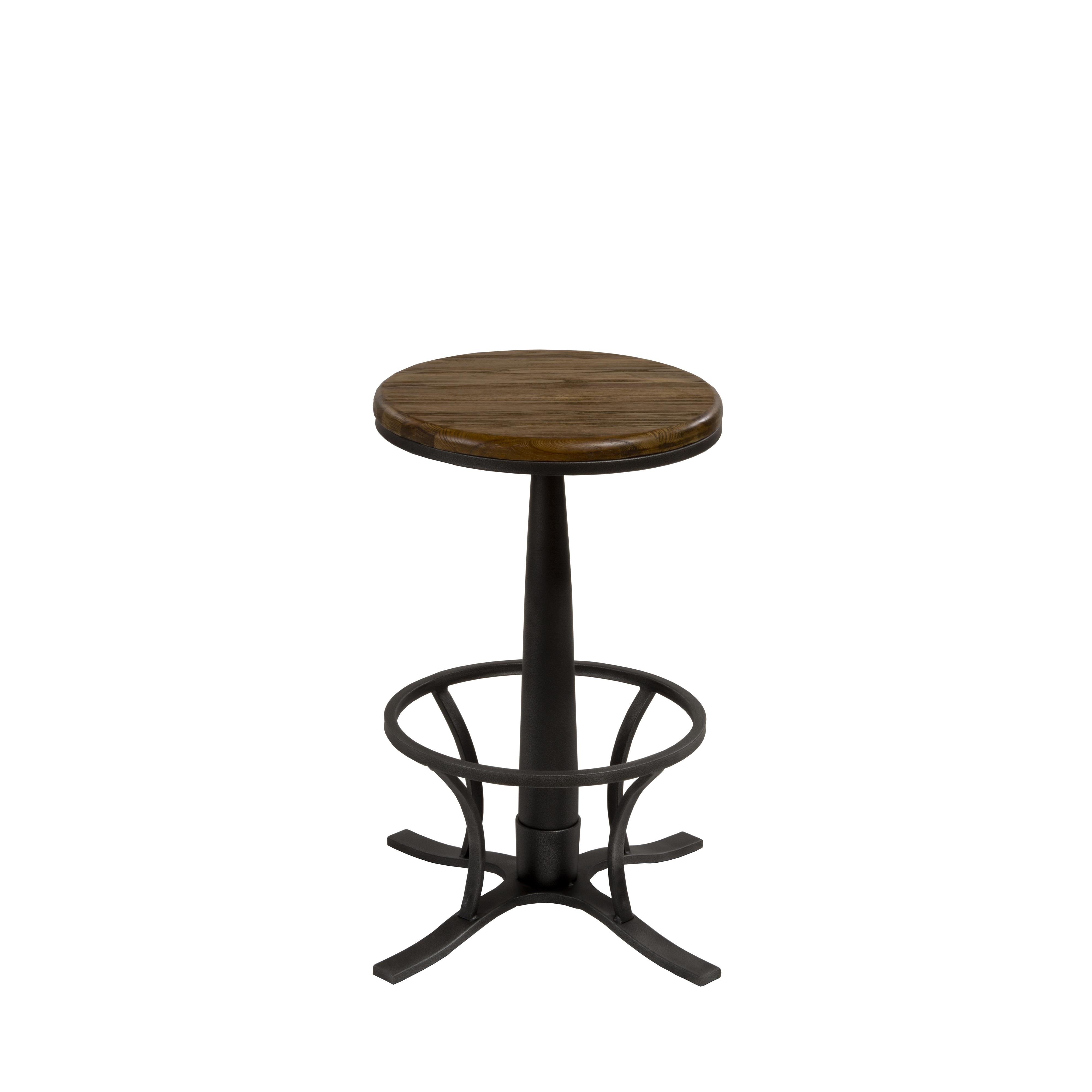 Backless bar stools rivage backless swivel counter stool for Backless bar stools