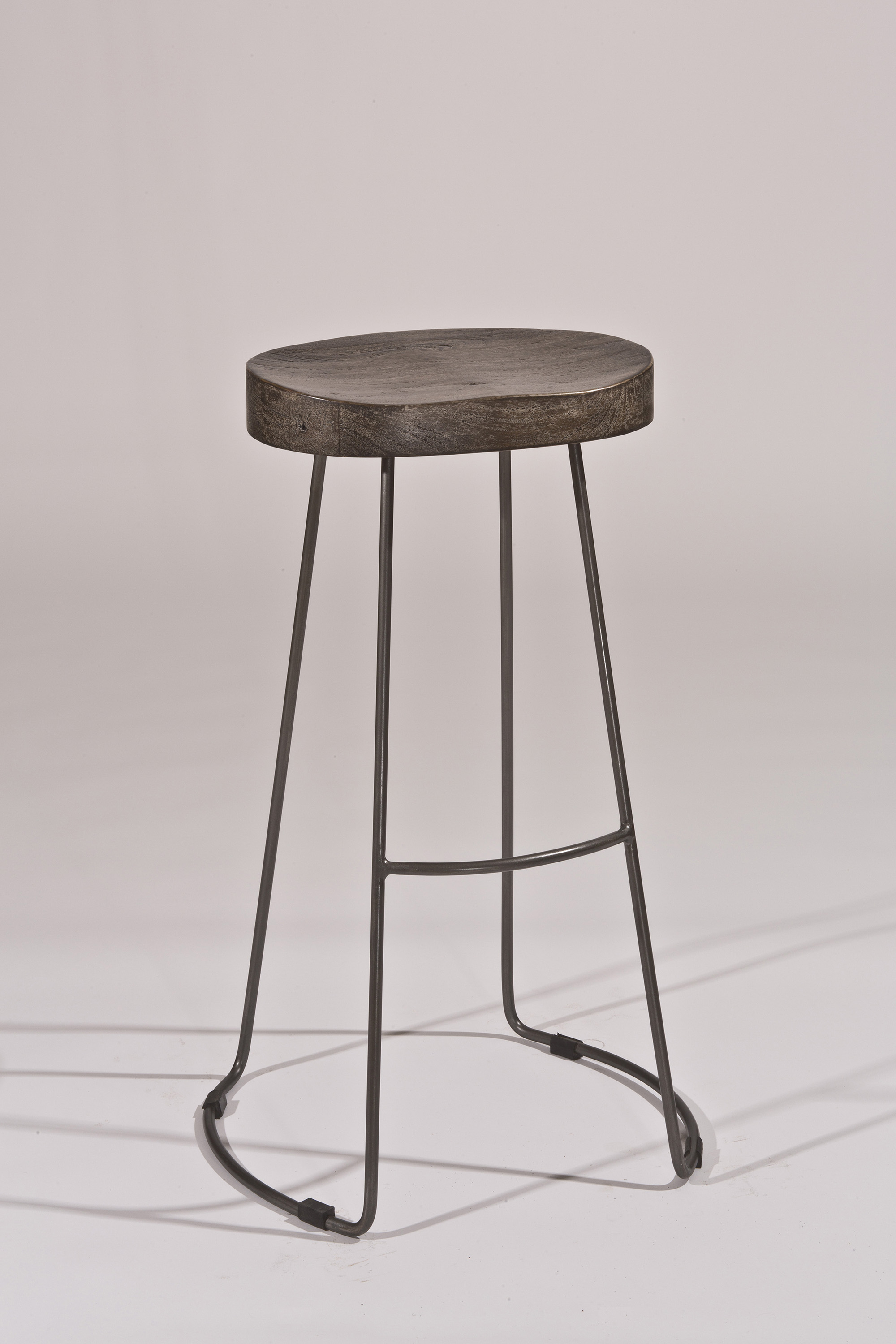 Hillsdale backless bar stools minimalist tractor non for Backless bar stools
