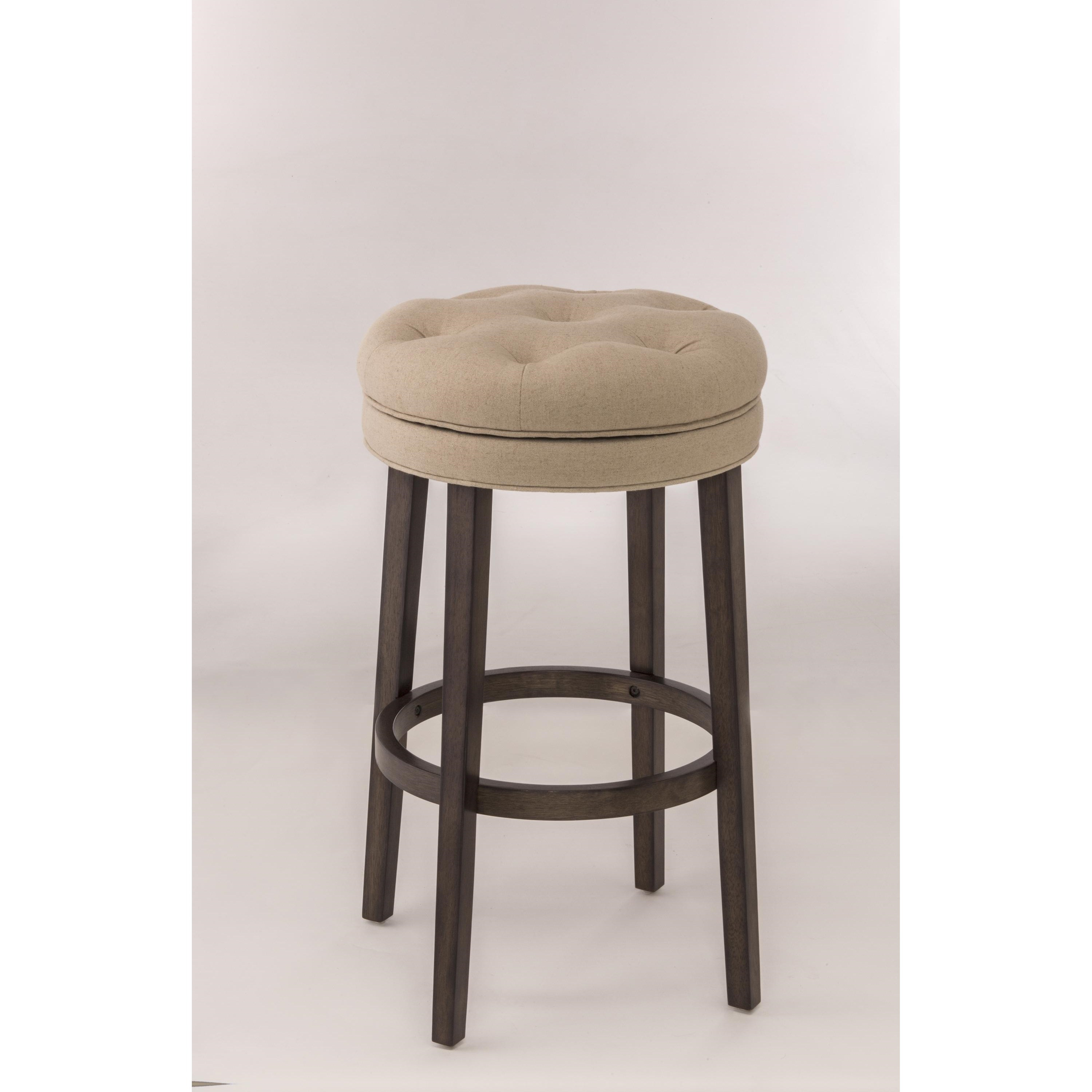 Hillsdale backless bar stools 5914 825 backless swivel for Backless bar stools