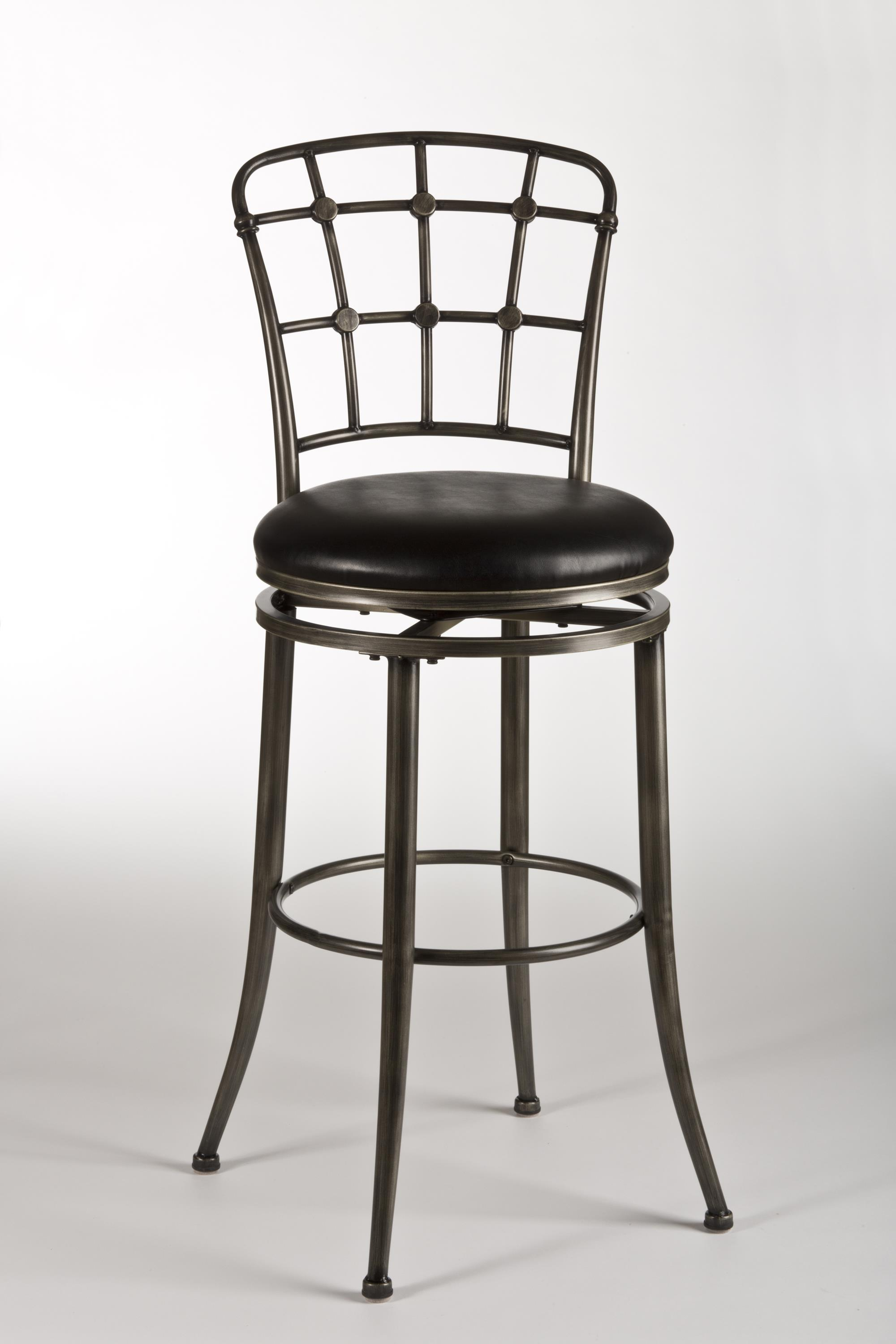 Wonderful image of Metal Stools Claymont Swivel Counter Stool with Lattice Back by  with #342F28 color and 2000x3000 pixels