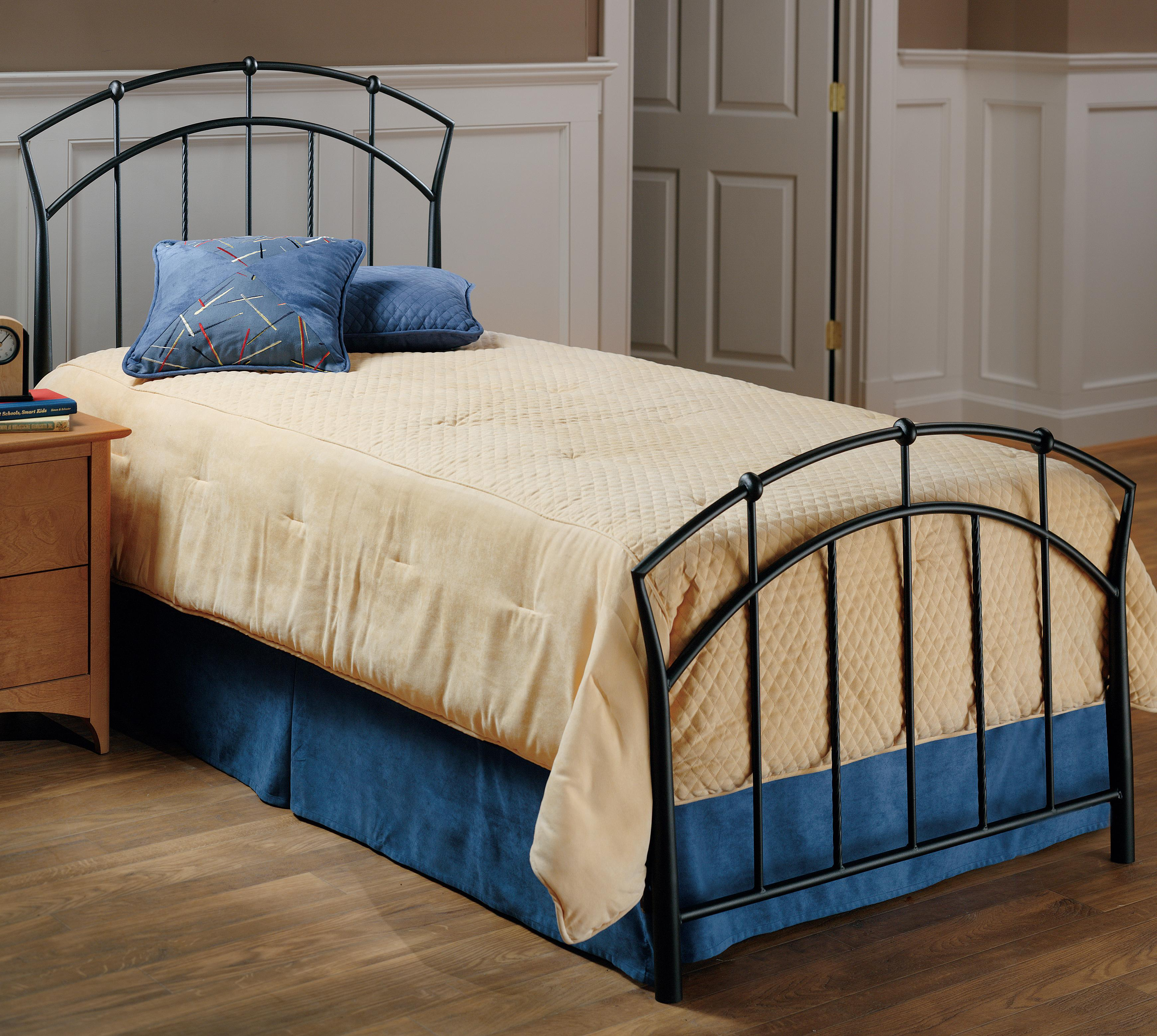 Hillsdale metal beds 1024btwr twin vancouver bed becker for Beds vancouver