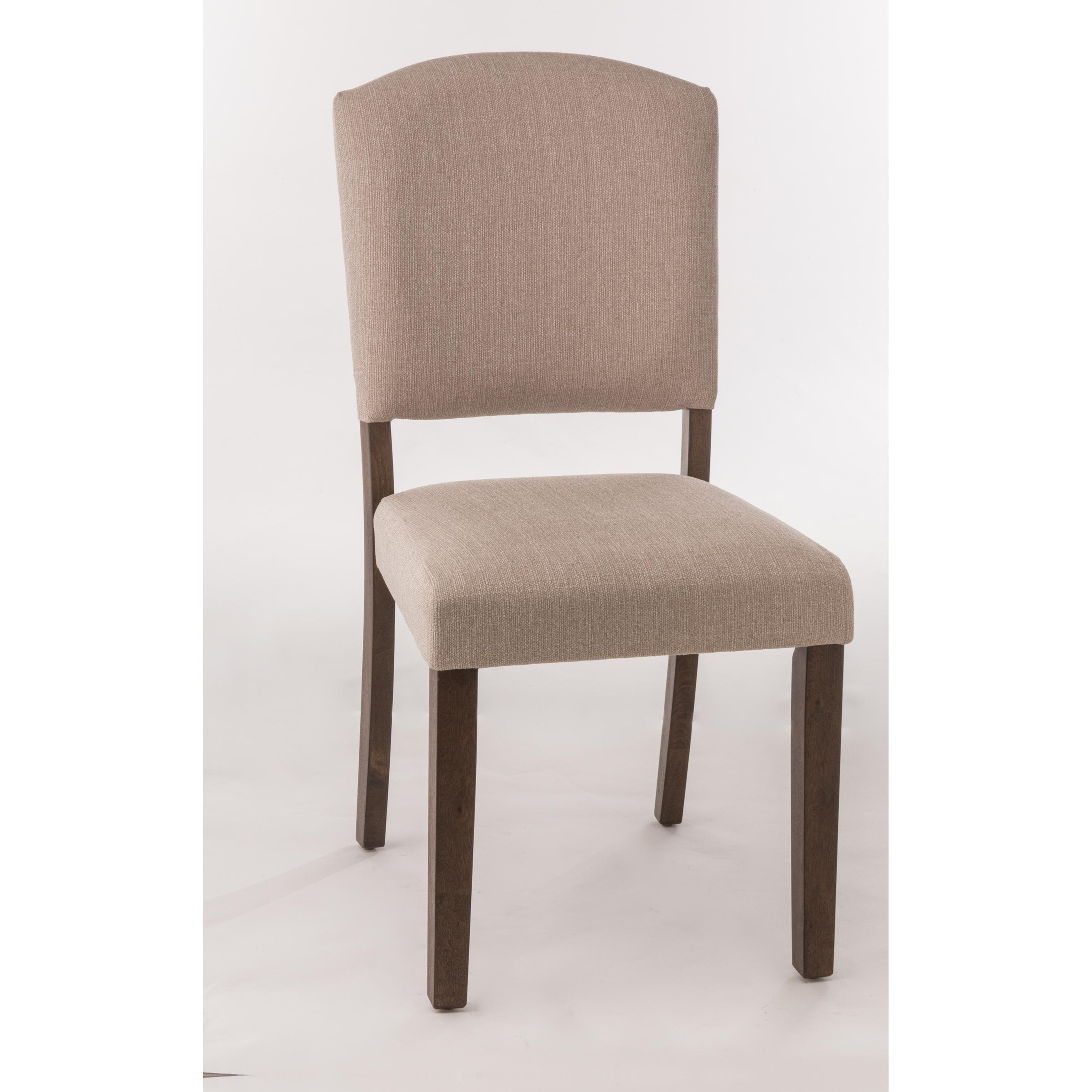 Hillsdale emerson parson dining chair with upholstered for Upholstered parson dining chairs
