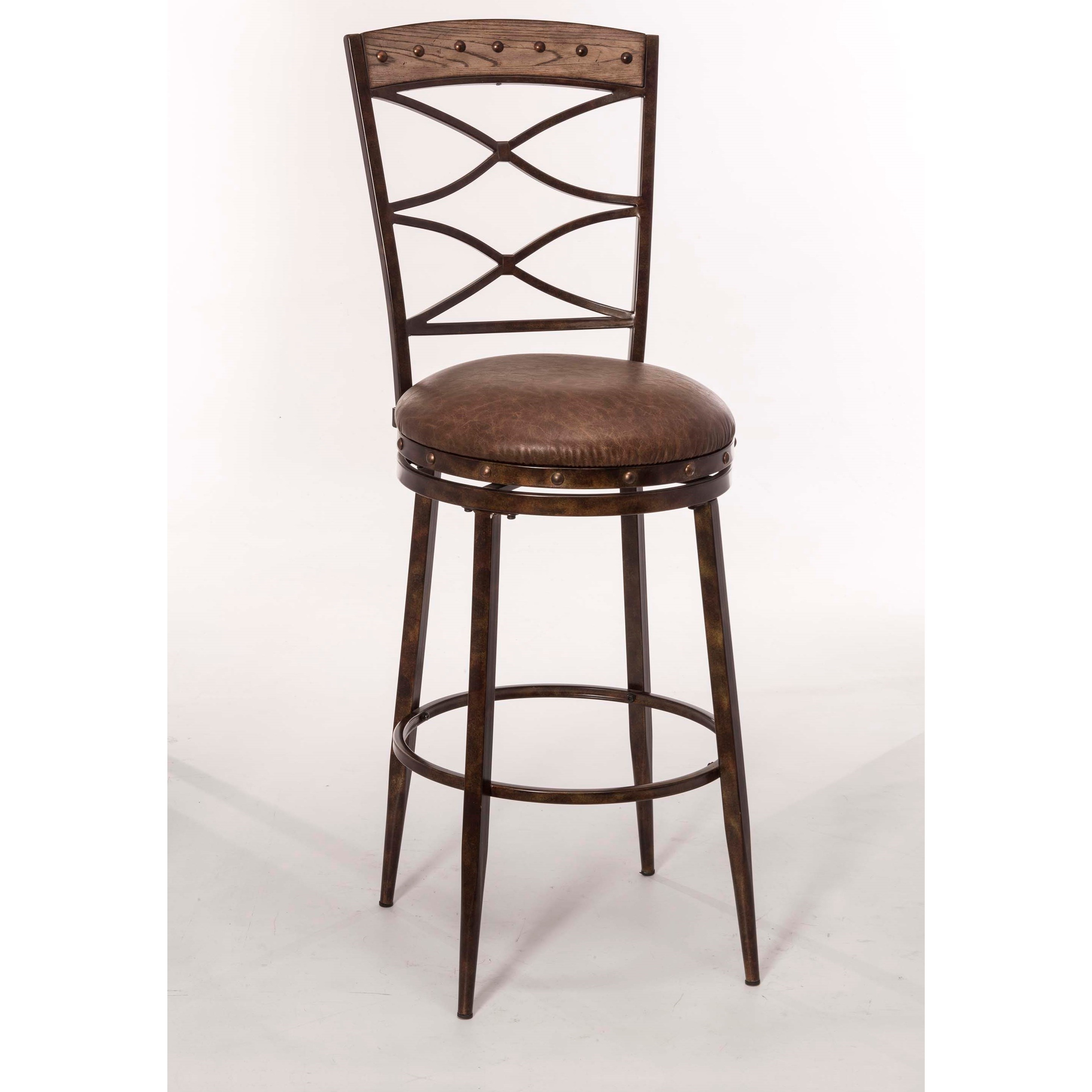 Hillsdale Emmons 5984 826 Swivel Counter Stool With Double