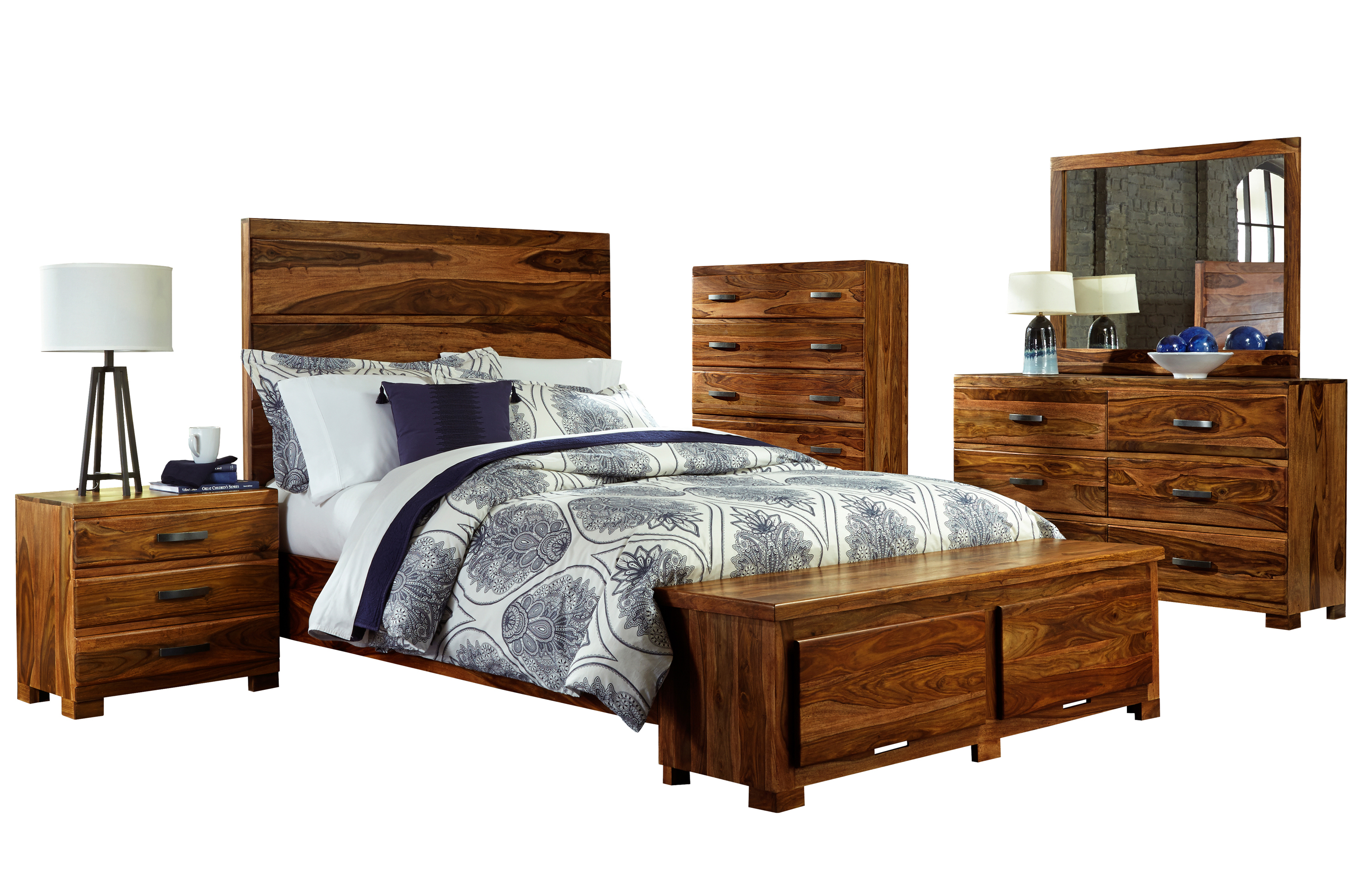 Hillsdale madera 1406bkrs5set 5 piece storage bedroom set for 5 piece bedroom set