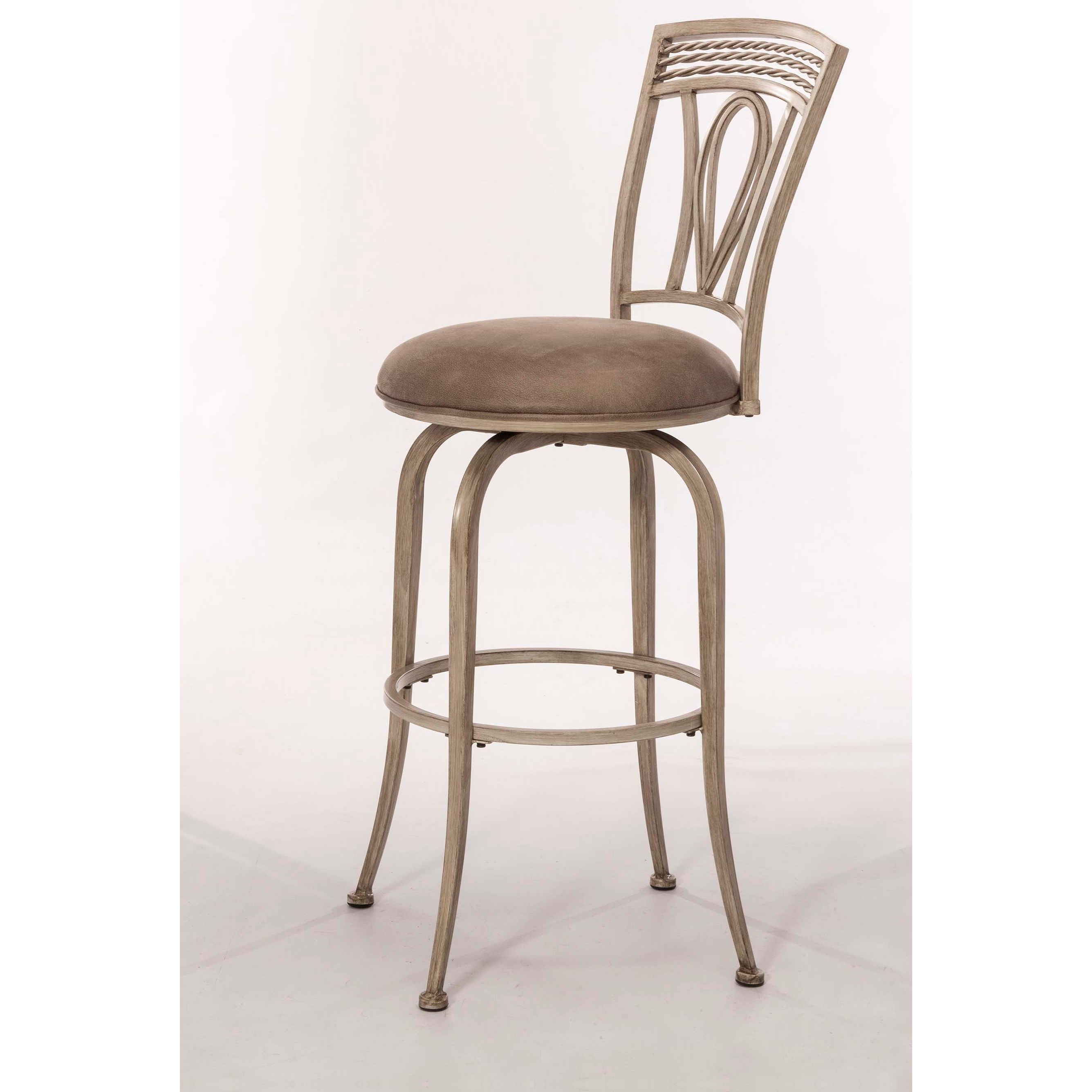 Hillsdale Napier Metal Swivel Bar Stool Colder S