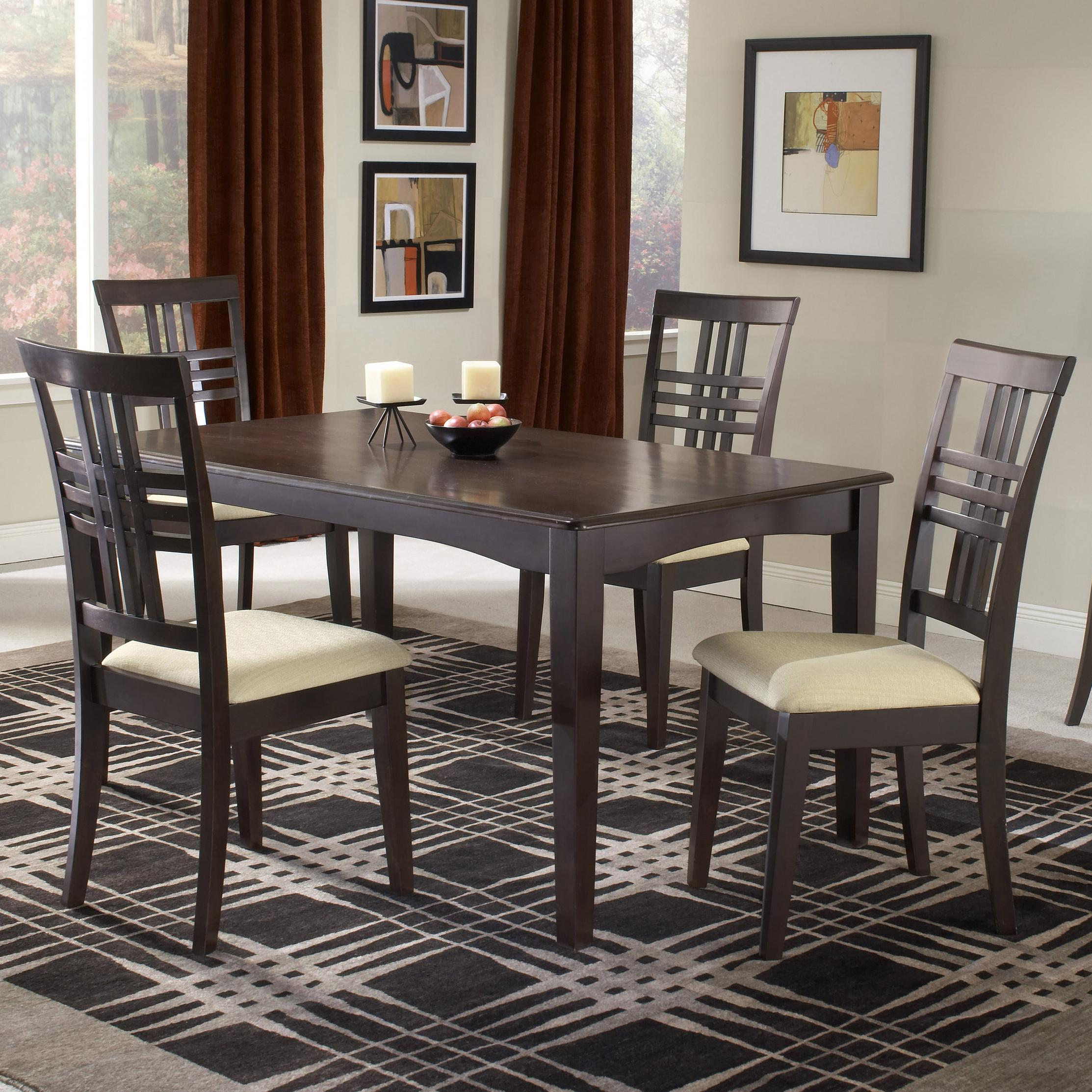 Hillsdale Tiburon 36 X 60 Fix Top Dining Table Del Sol Furniture Dining R