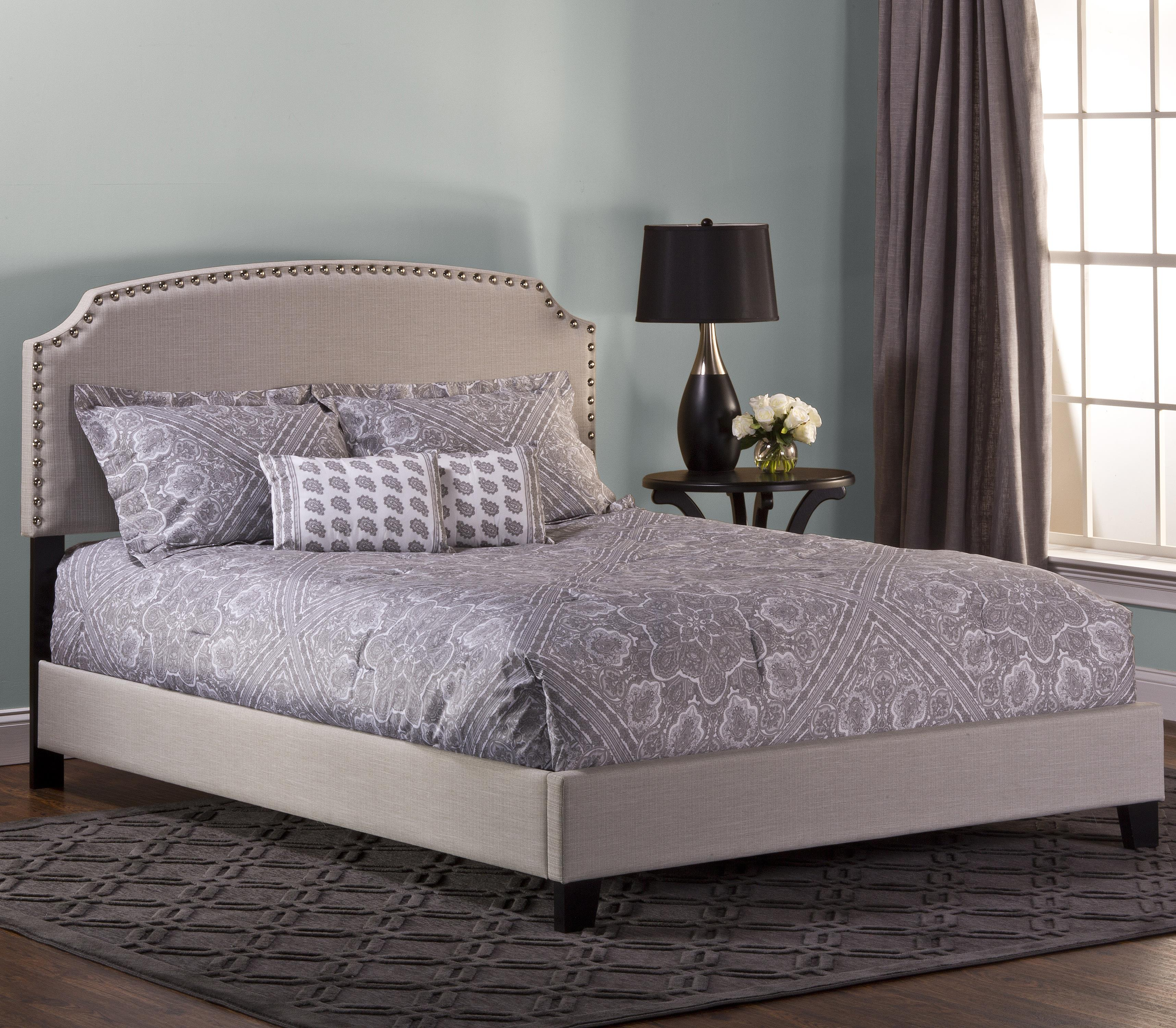 Hillsdale upholstered beds full lani upholstered bed w for Upholstered full bed