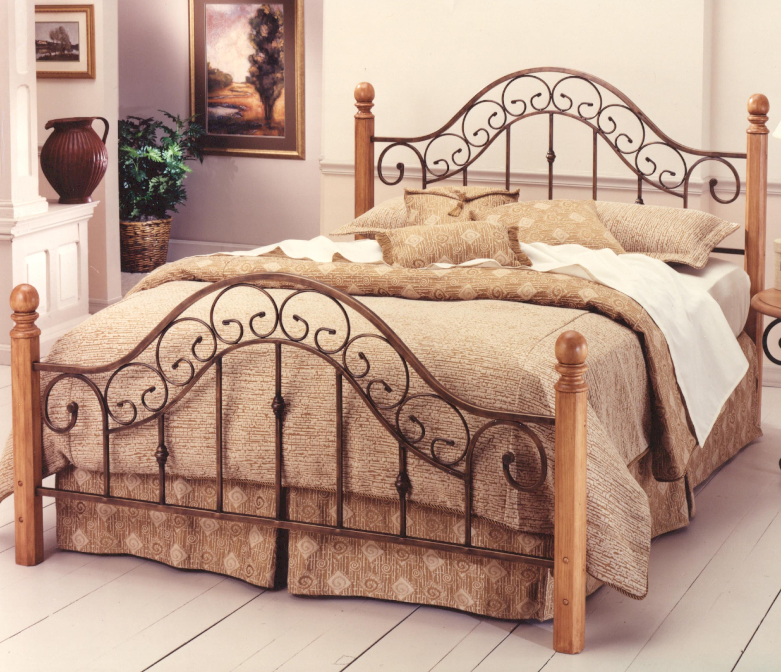 Hillsdale wood beds queen san marco bed dream home for Bedroom furniture 30144