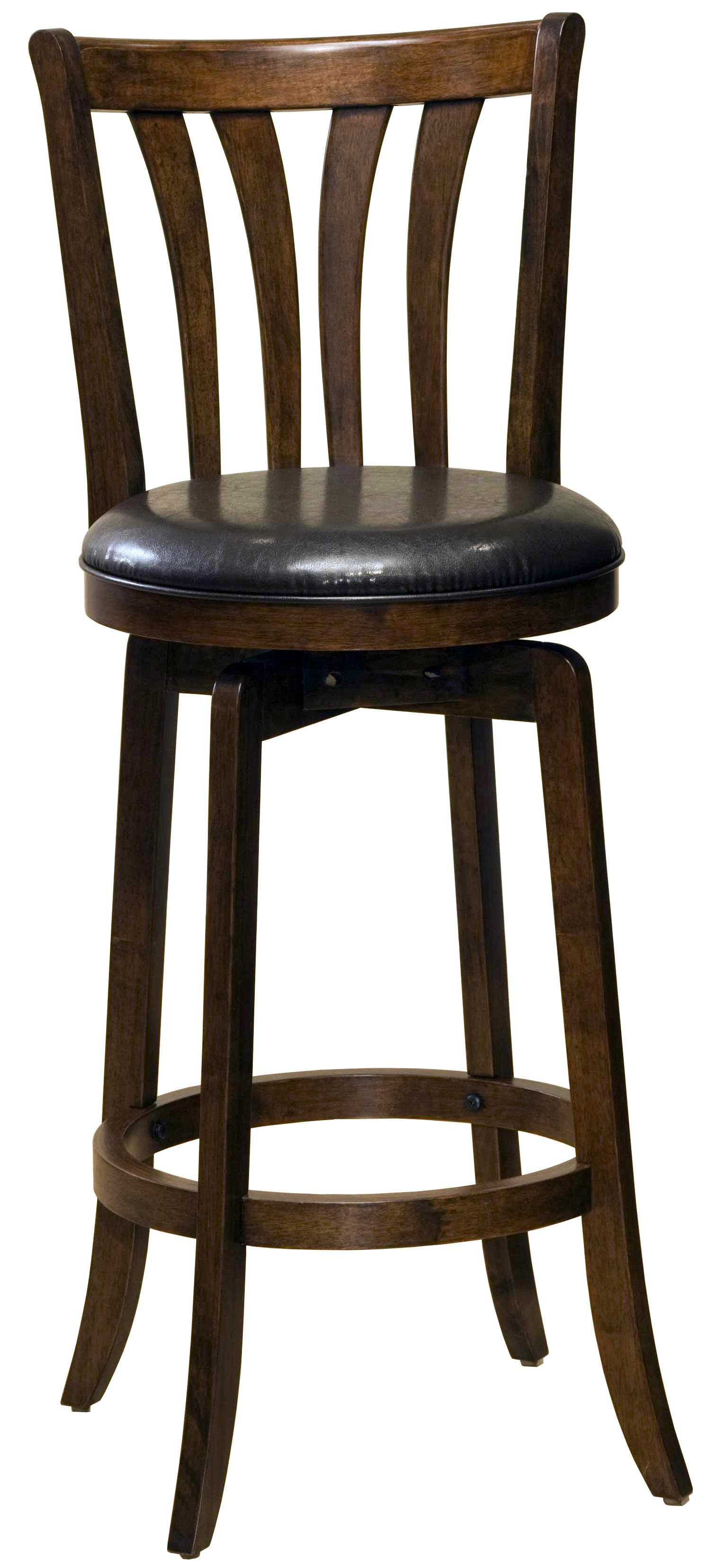 26 counter height savana swivel bar stool for Bar stool height